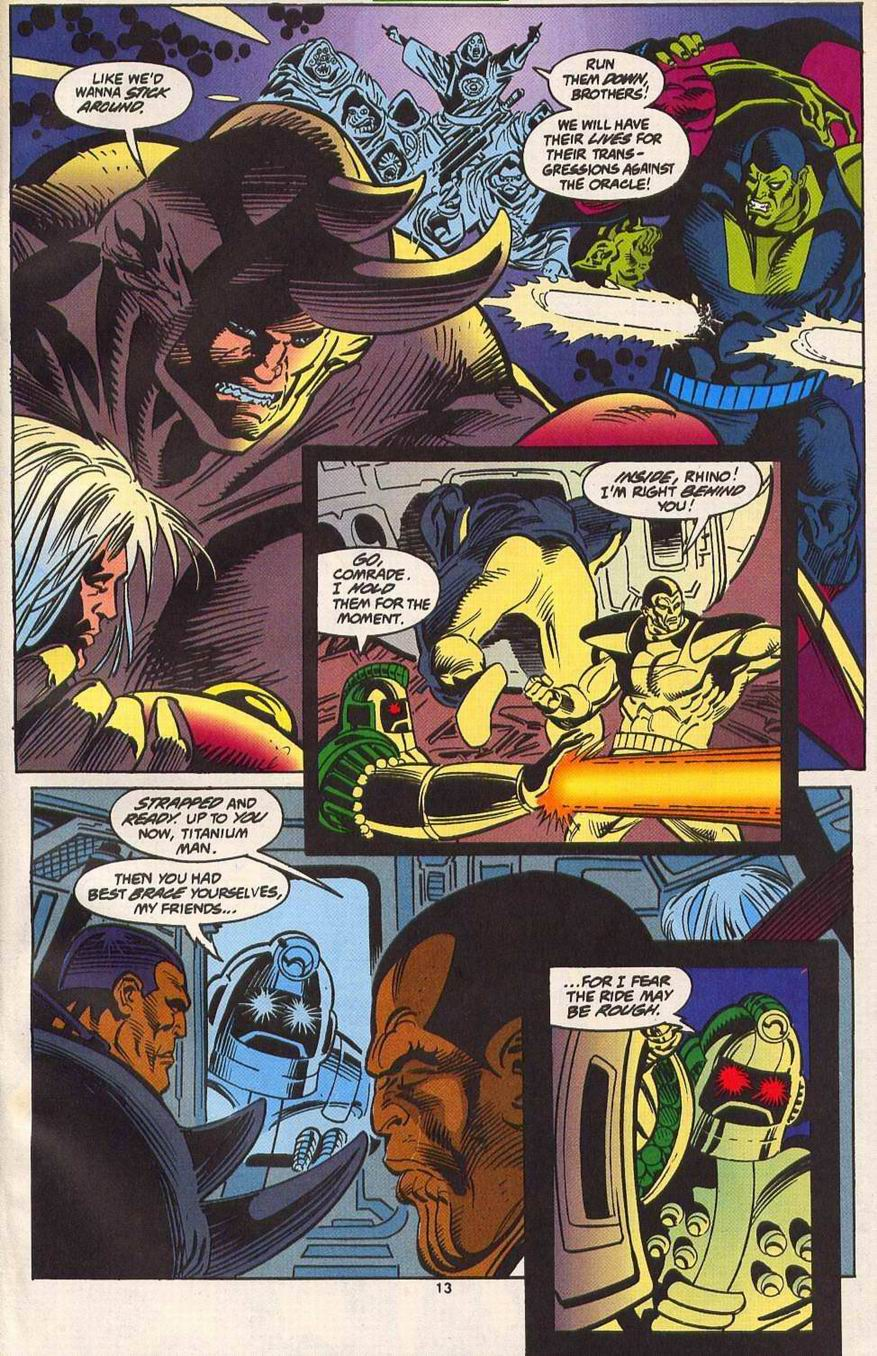 Read online Secret Defenders comic -  Issue #14 - 11
