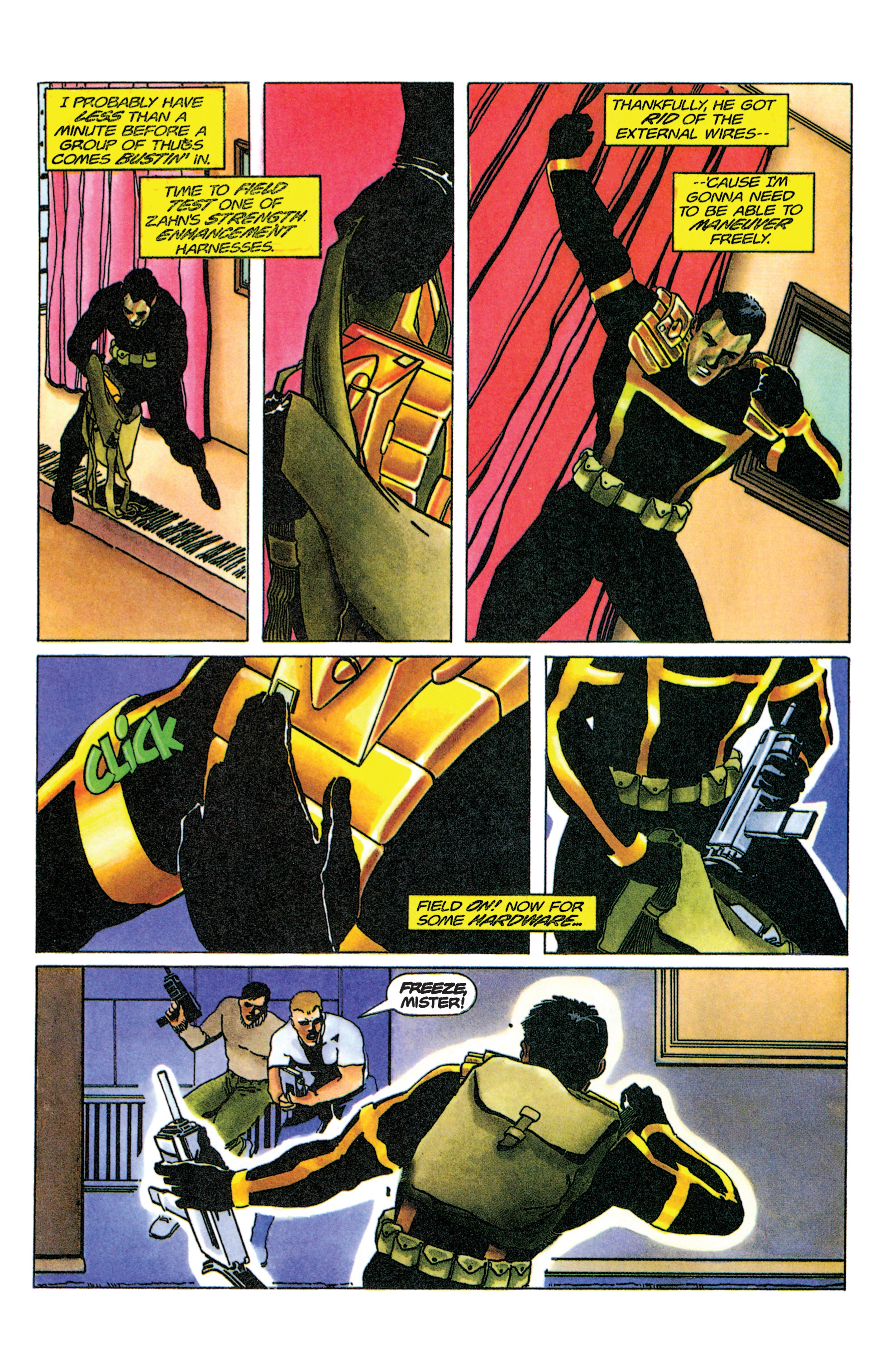 Read online Armorines comic -  Issue #9 - 13
