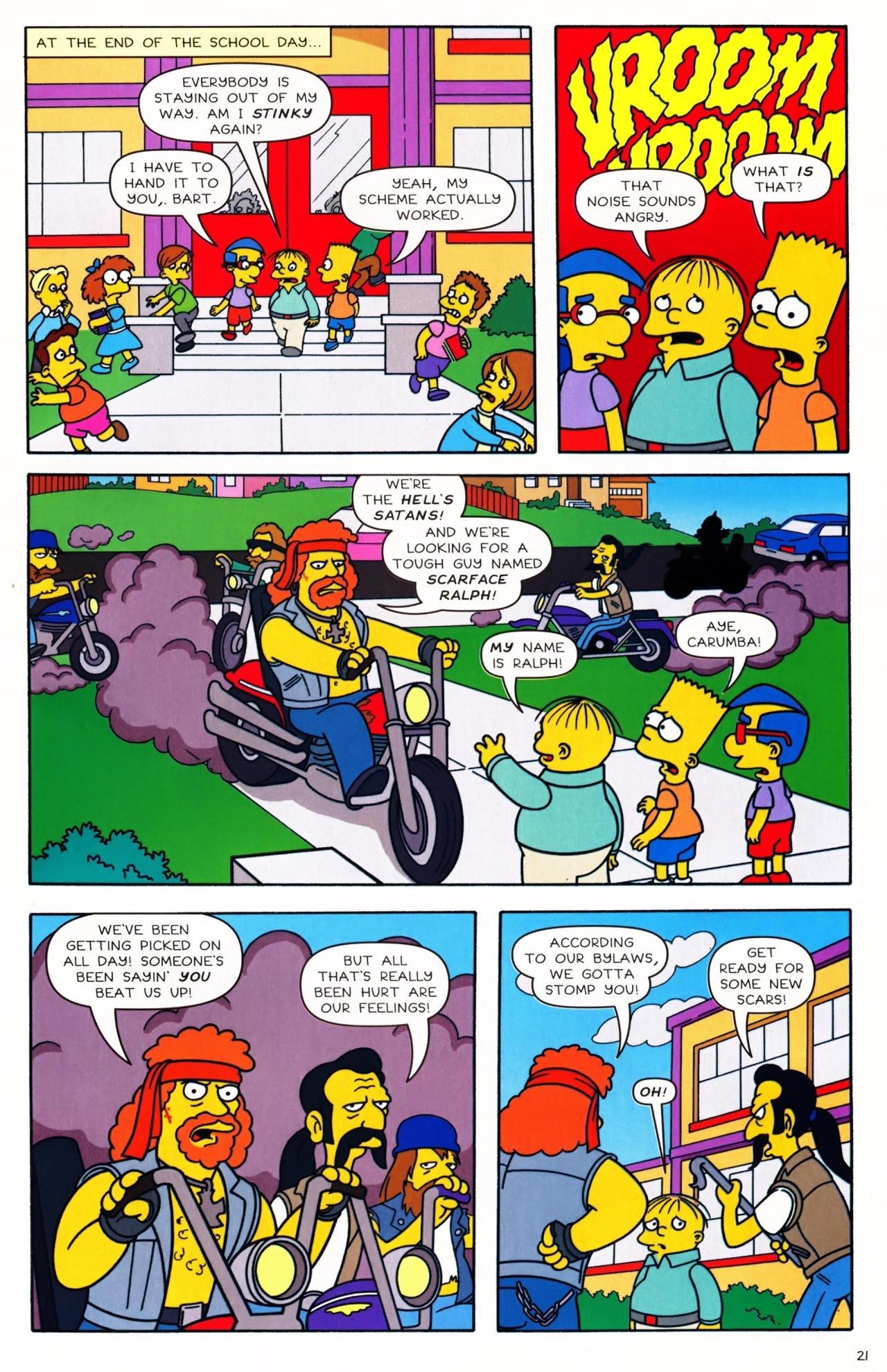 Read online Simpsons Comics Presents Bart Simpson comic -  Issue #42 - 23