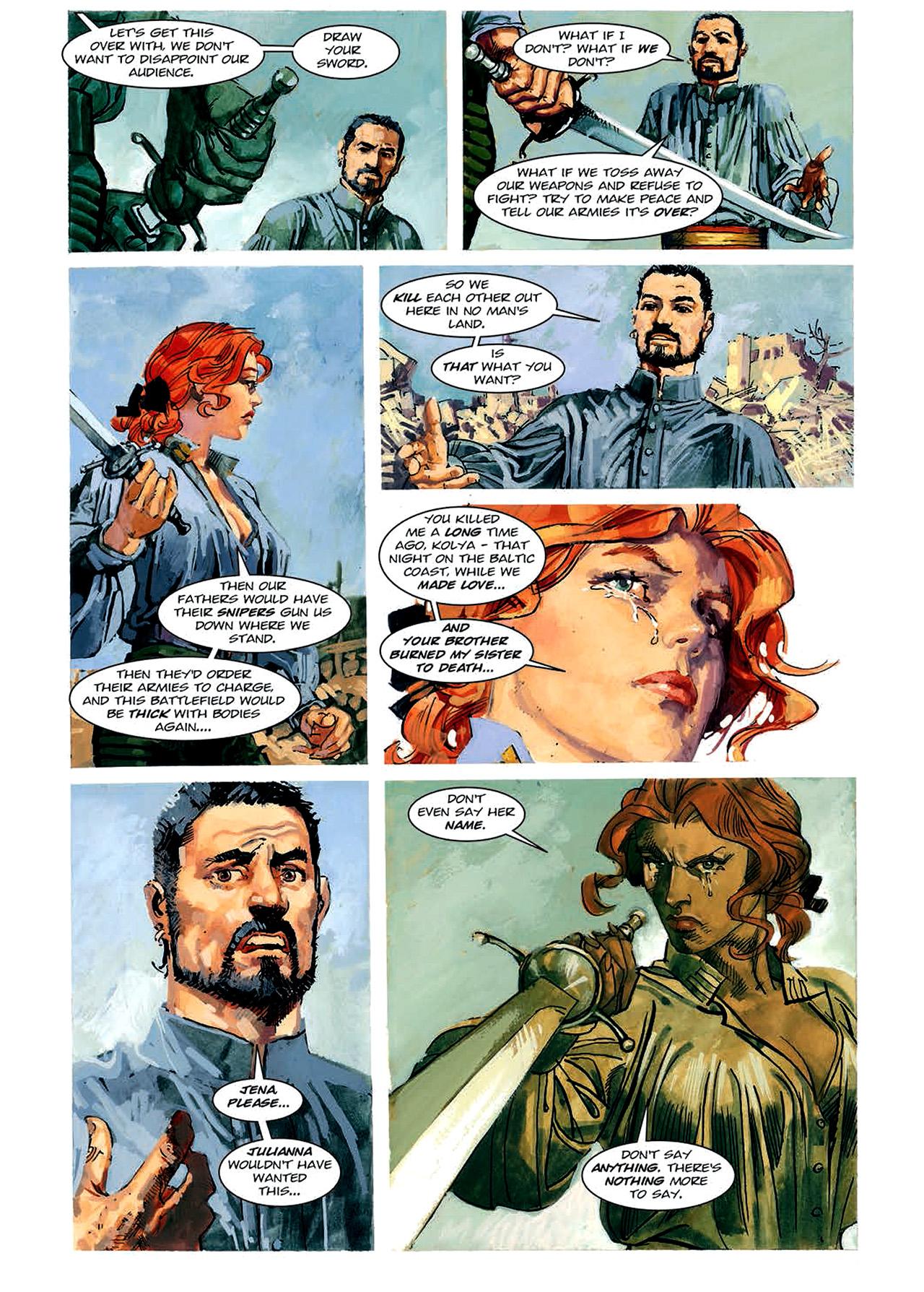 Read online Nikolai Dante comic -  Issue # TPB 4 - 91