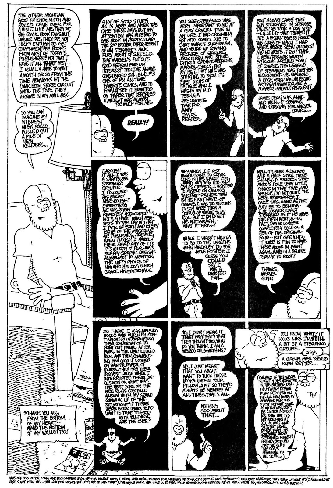 Read online The Nearly Complete Essential Hembeck Archives Omnibus comic -  Issue # TPB (Part 4) - 64