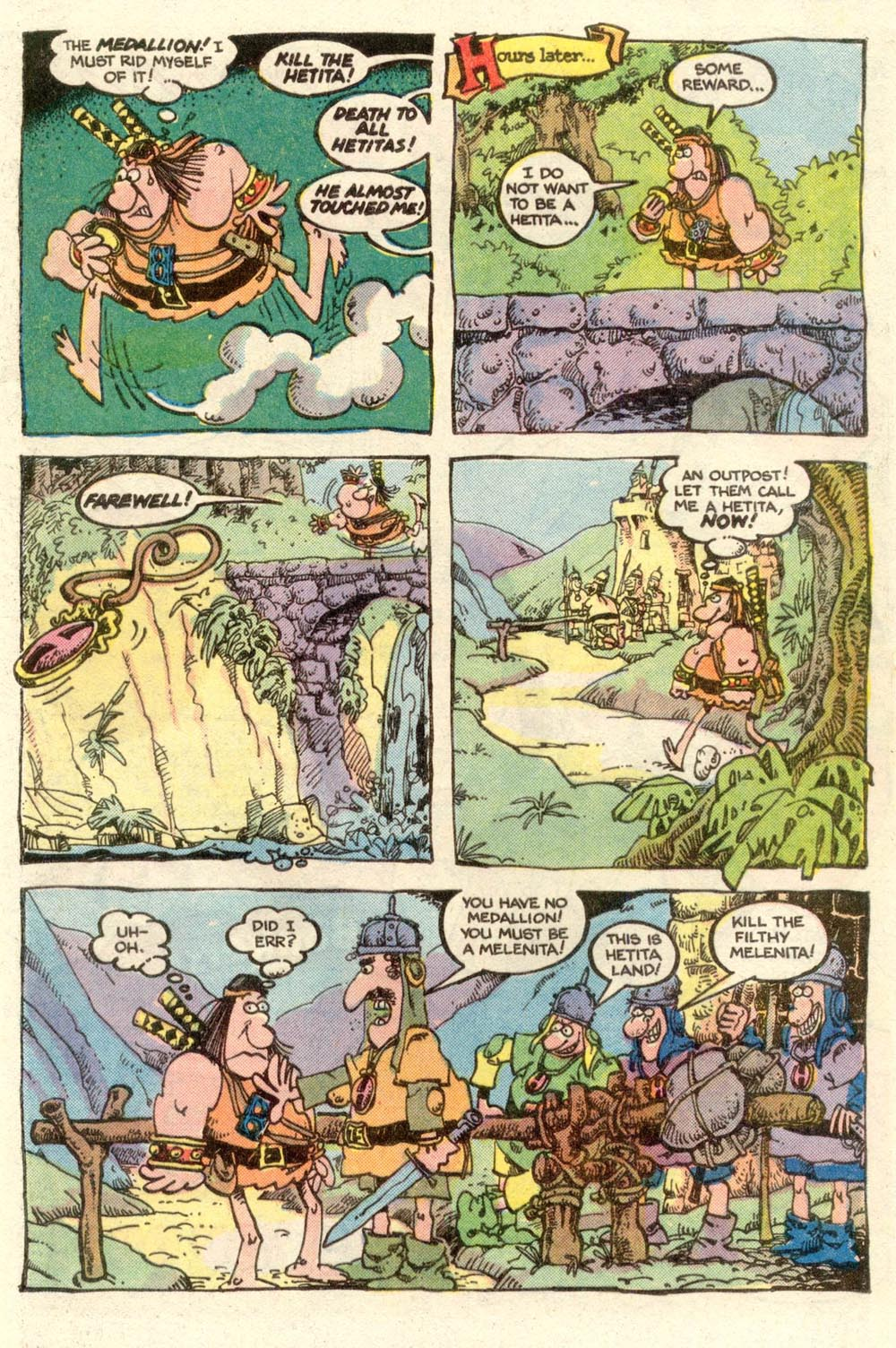 Read online Sergio Aragonés Groo the Wanderer comic -  Issue #3 - 8