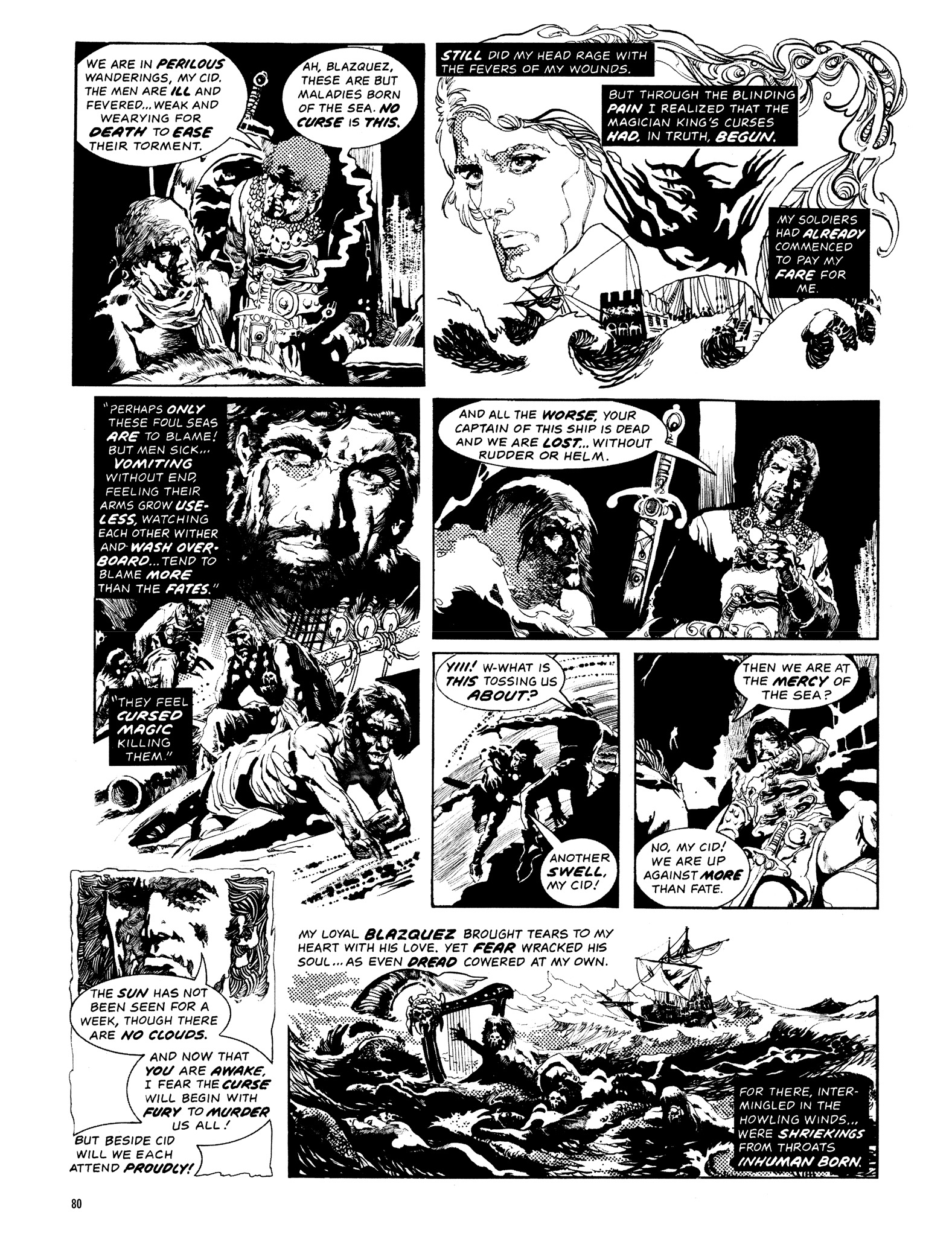 Read online Eerie Archives comic -  Issue # TPB 14 - 81