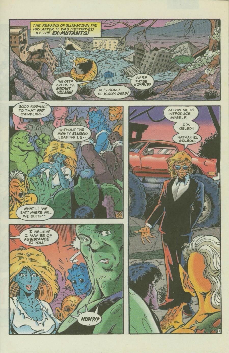 Read online Ex-Mutants comic -  Issue #4 - 3