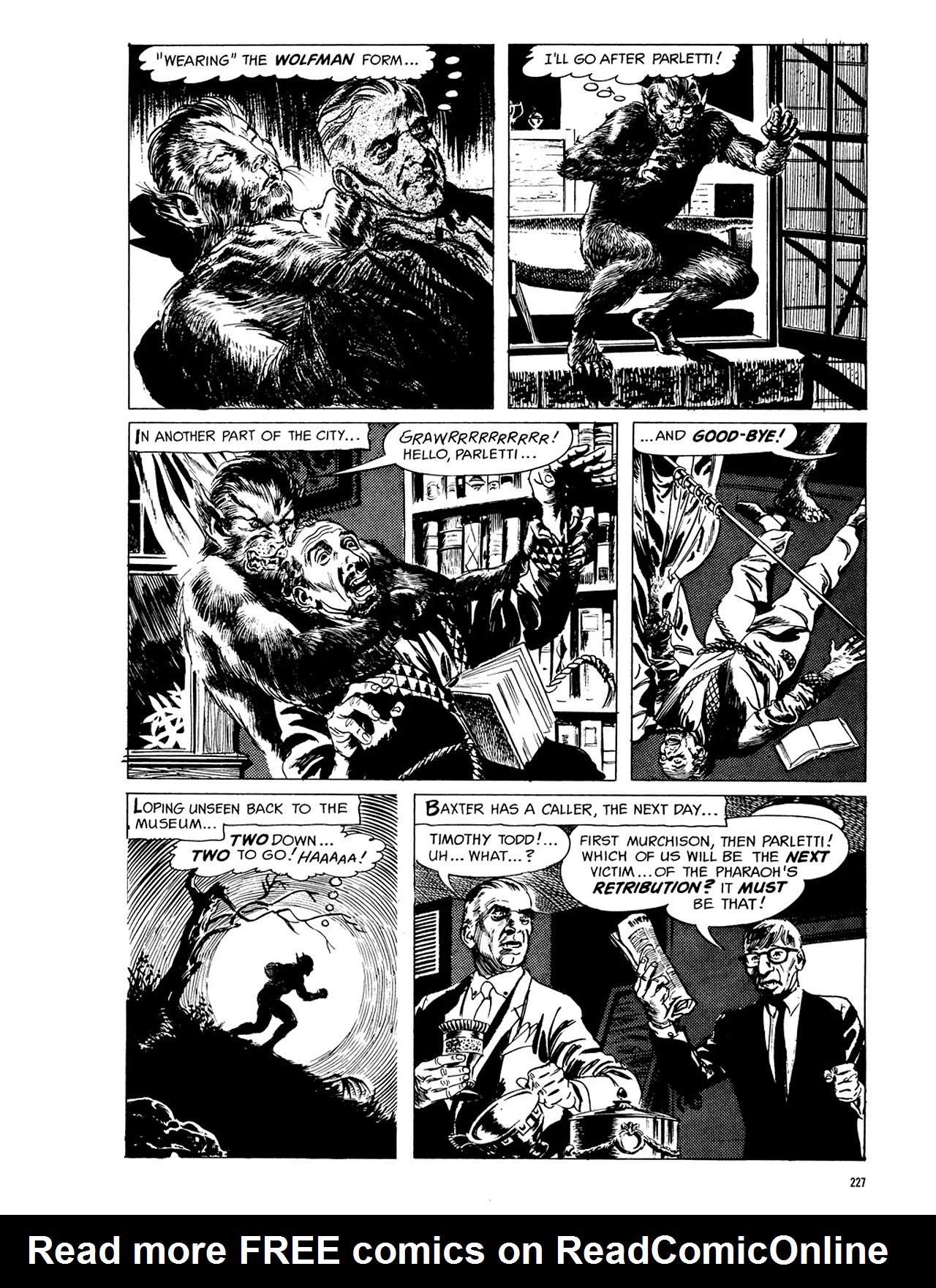 Read online Eerie Archives comic -  Issue # TPB 3 - 228