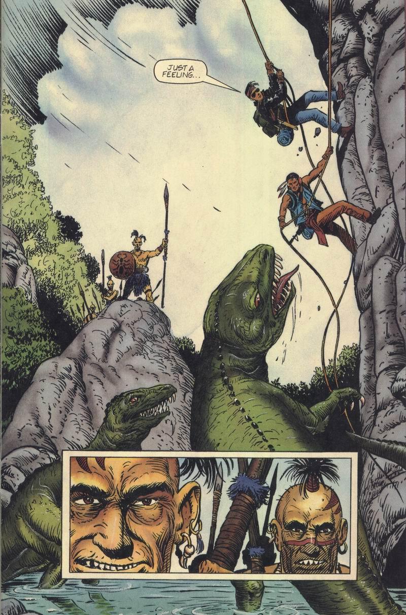 Read online Turok, Dinosaur Hunter (1993) comic -  Issue #7 - 21