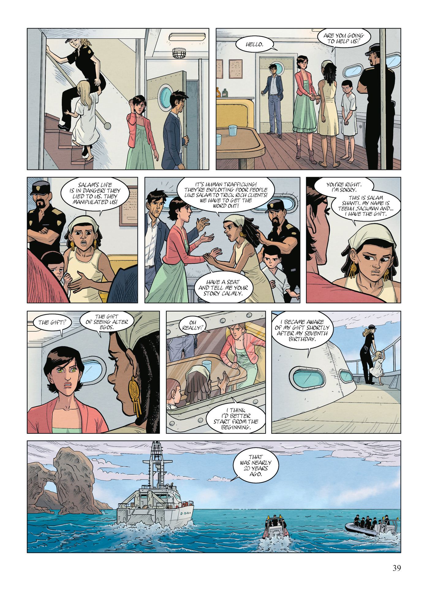 Read online Alter Ego comic -  Issue #9 - 41