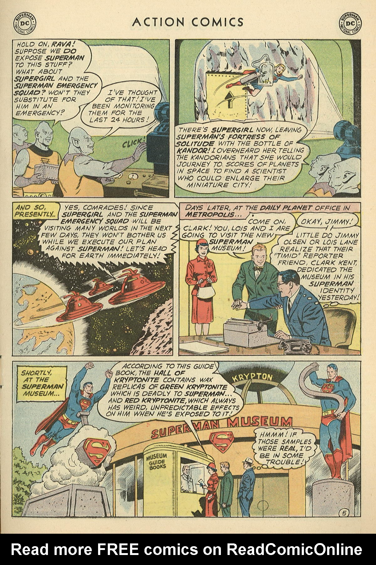 Read online Action Comics (1938) comic -  Issue #286 - 7