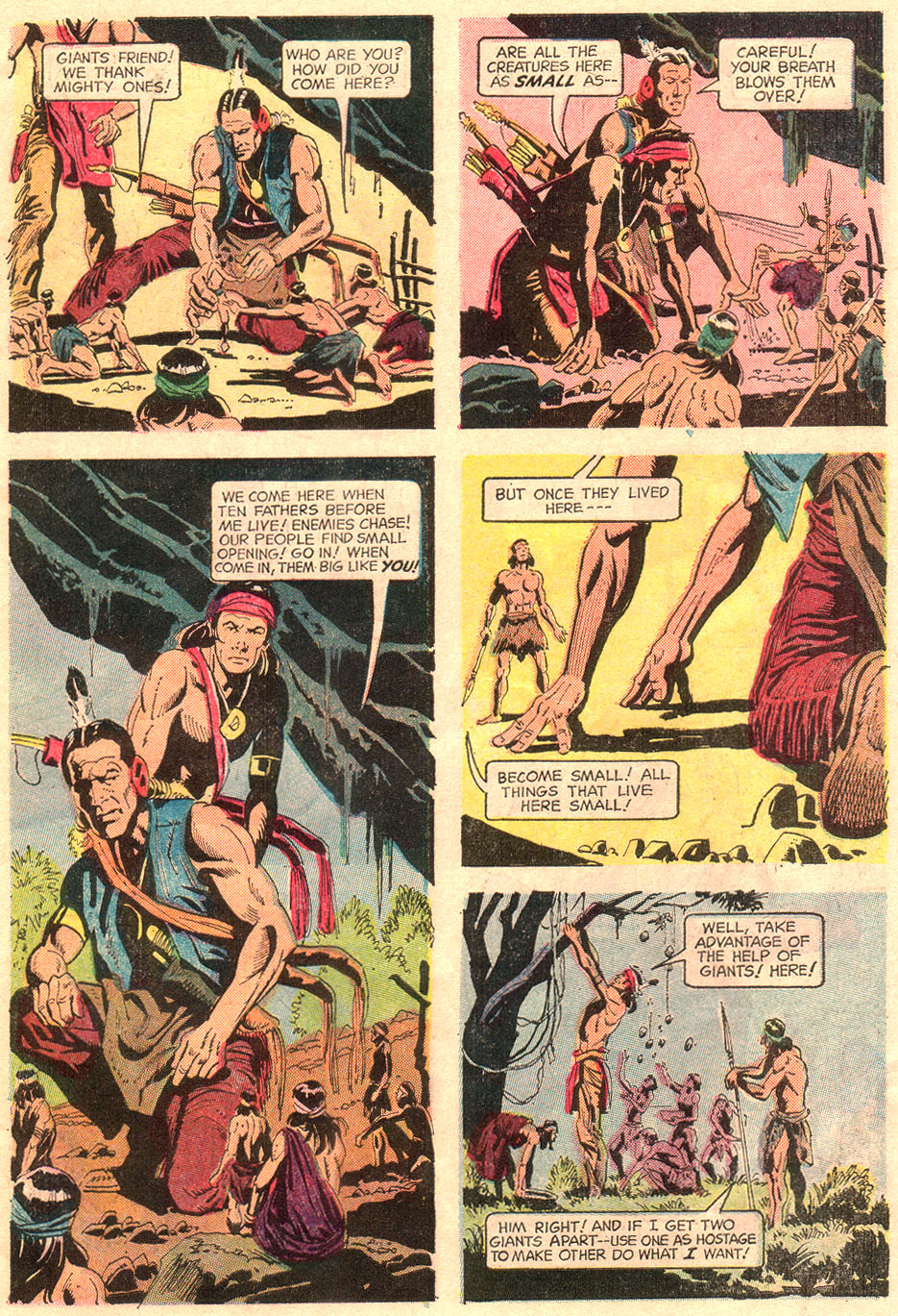 Read online Turok, Son of Stone comic -  Issue #67 - 7