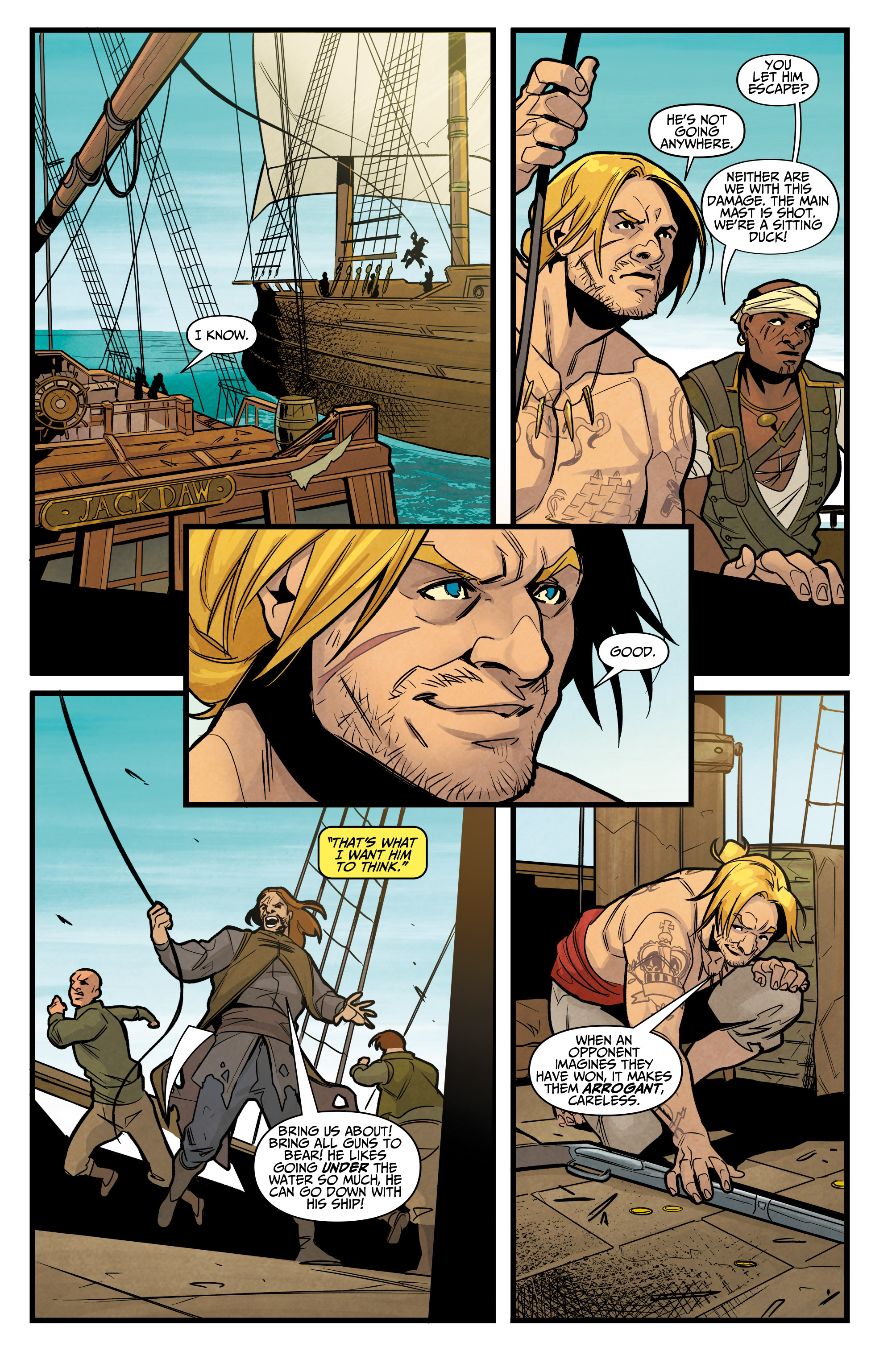Read online Assassin's Creed: Reflections comic -  Issue #3 - 20
