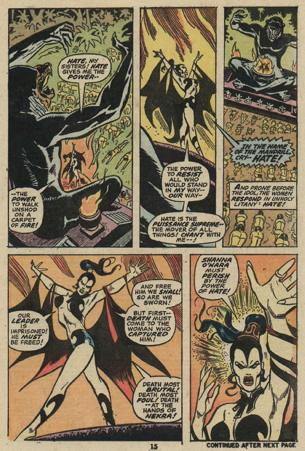 Shanna, the She-Devil (1972) issue 5 - Page 12