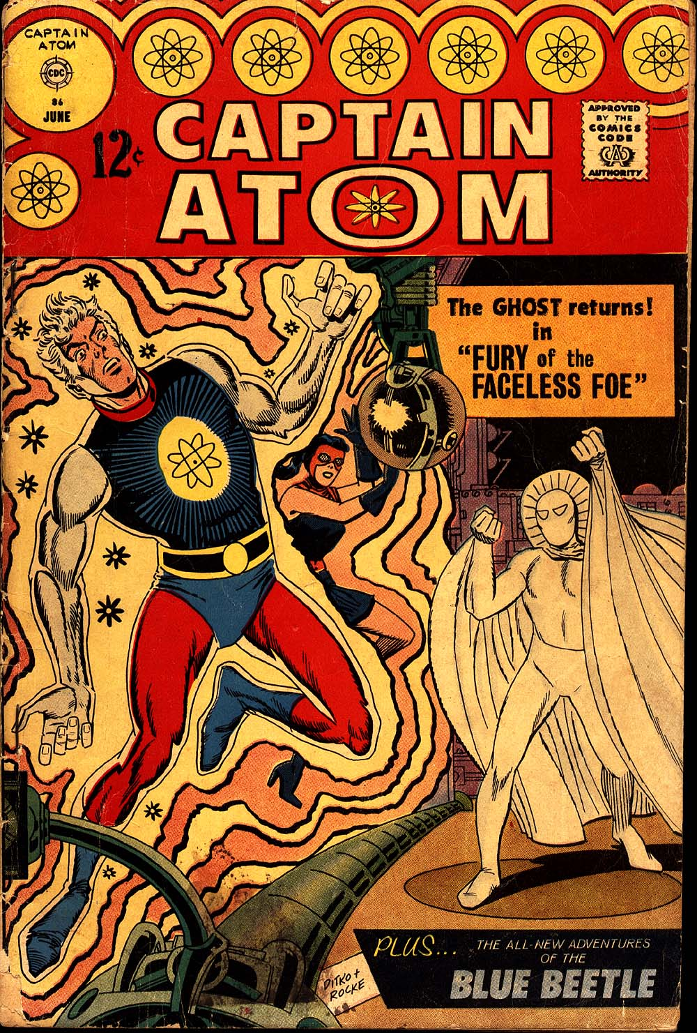 Captain Atom (1965) 86 Page 1