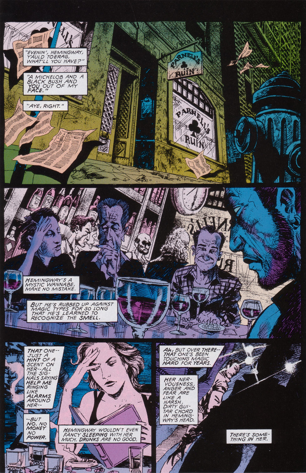 Read online Druid comic -  Issue #2 - 14