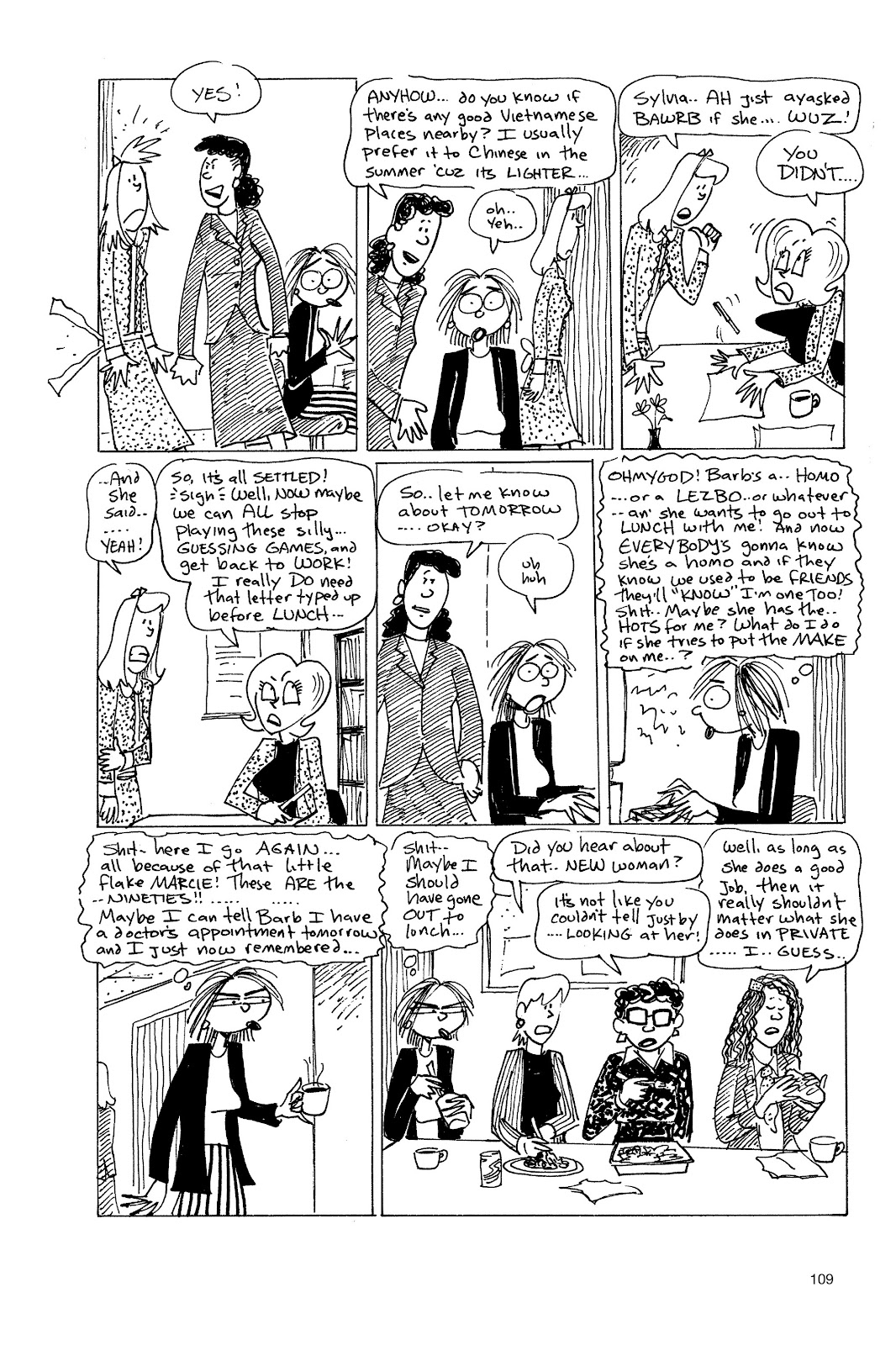 Read online Life's a Bitch: The Complete Bitchy Bitch Stories comic -  Issue # TPB (Part 2) - 7