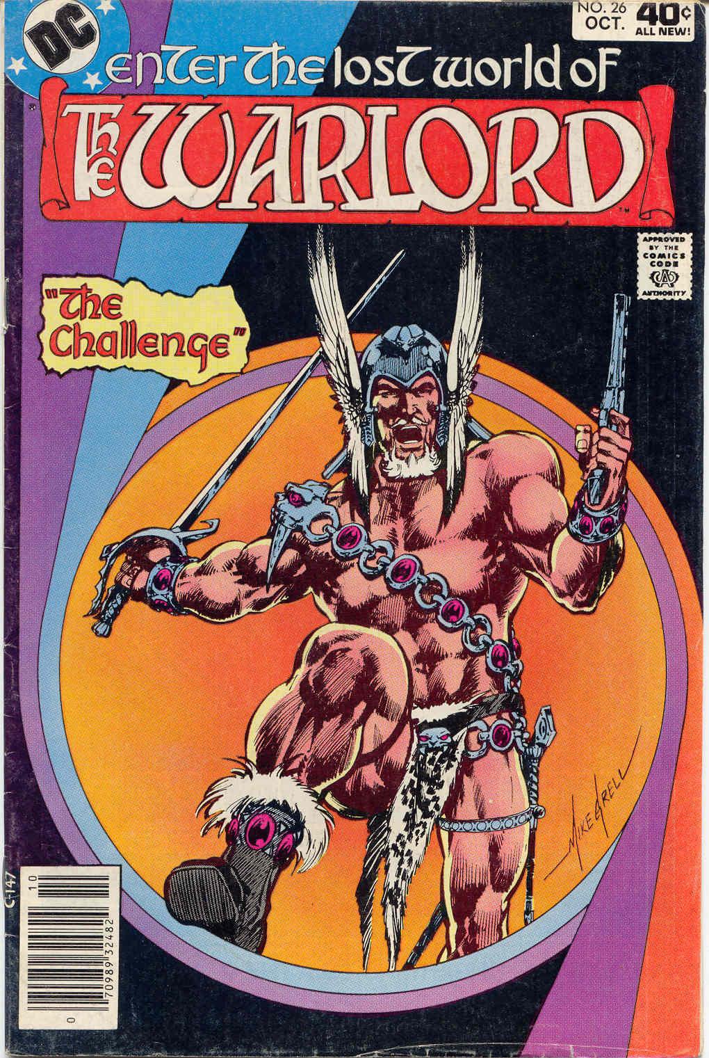 Warlord (1976) 26 Page 1