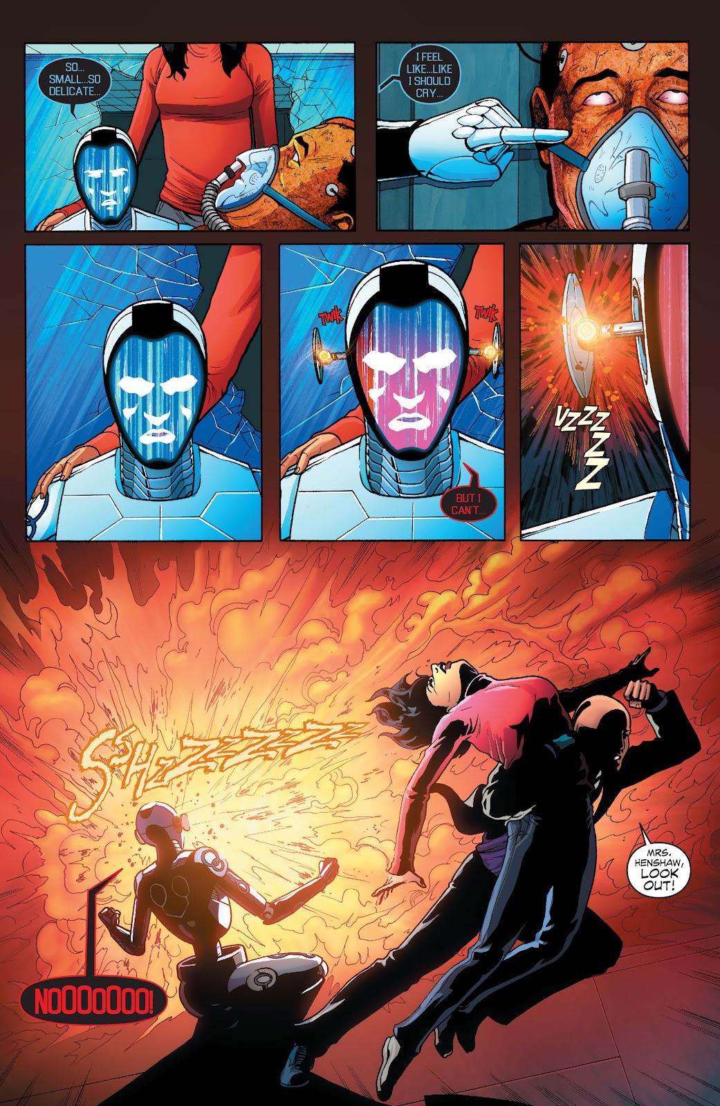 Read online Smallville Season 11 [II] comic -  Issue # TPB 1 - 108