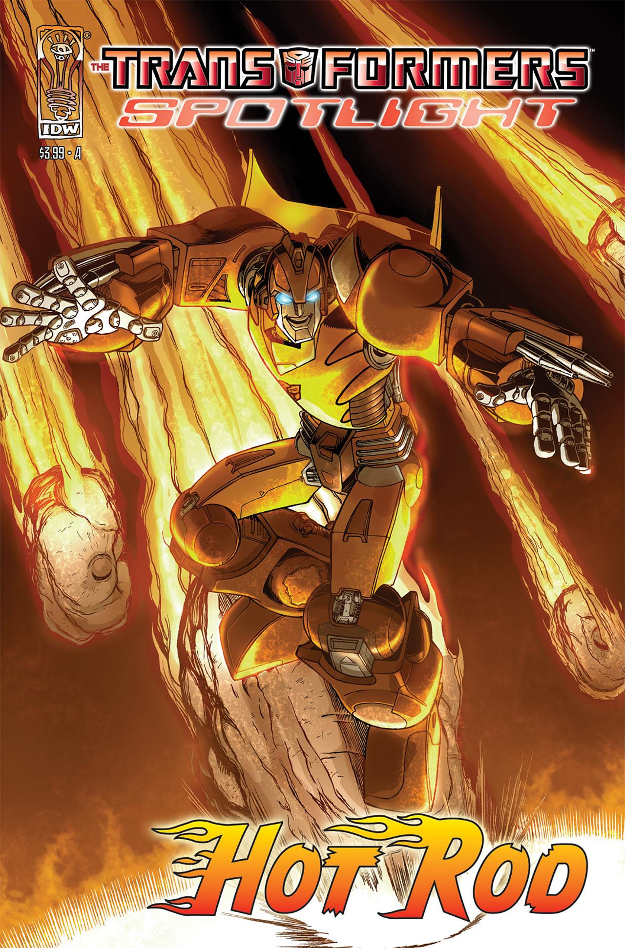 Read online Transformers Spotlight: Hot Rod comic -  Issue # Full - 1