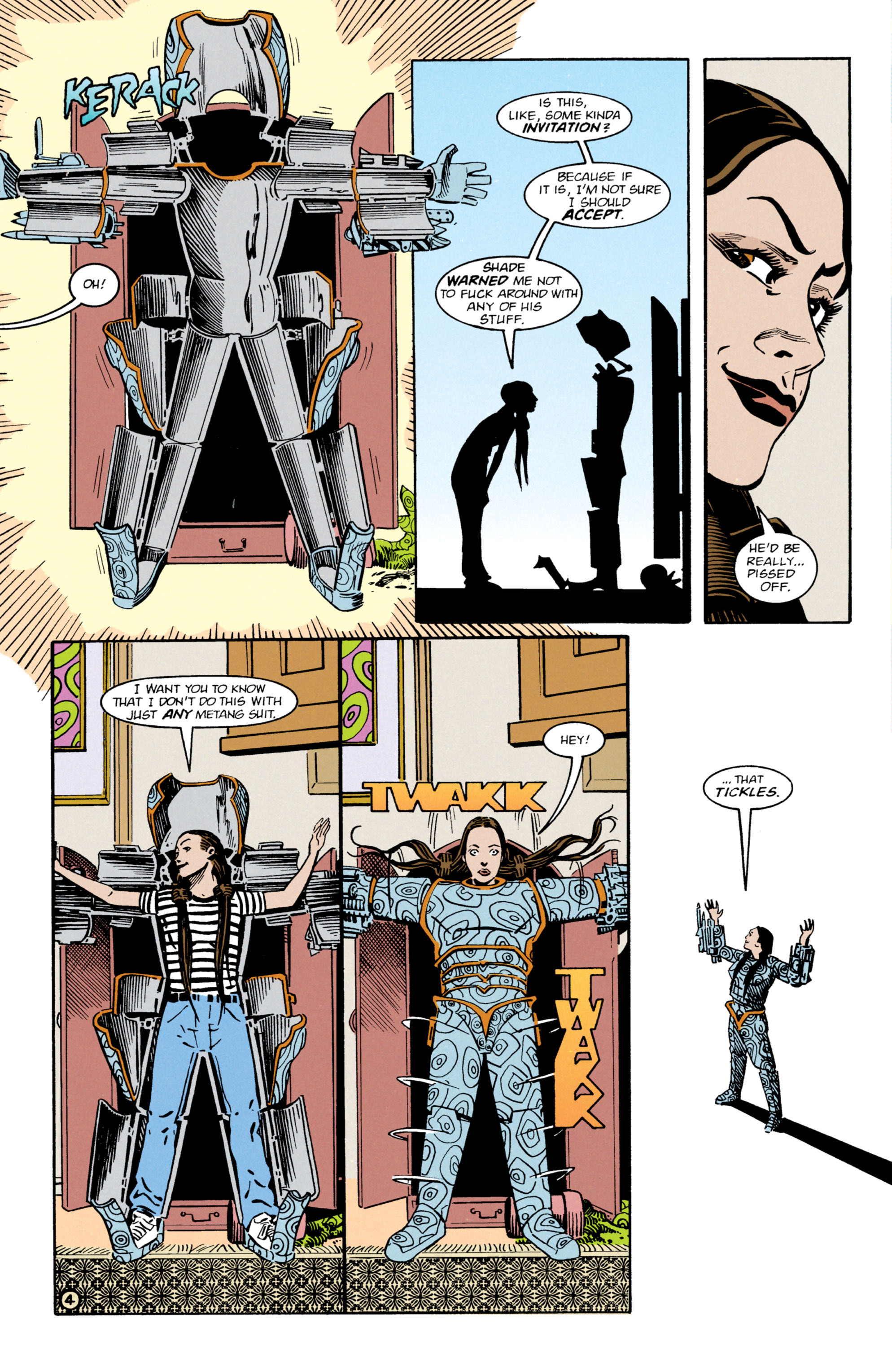 Read online Shade, the Changing Man comic -  Issue #64 - 5