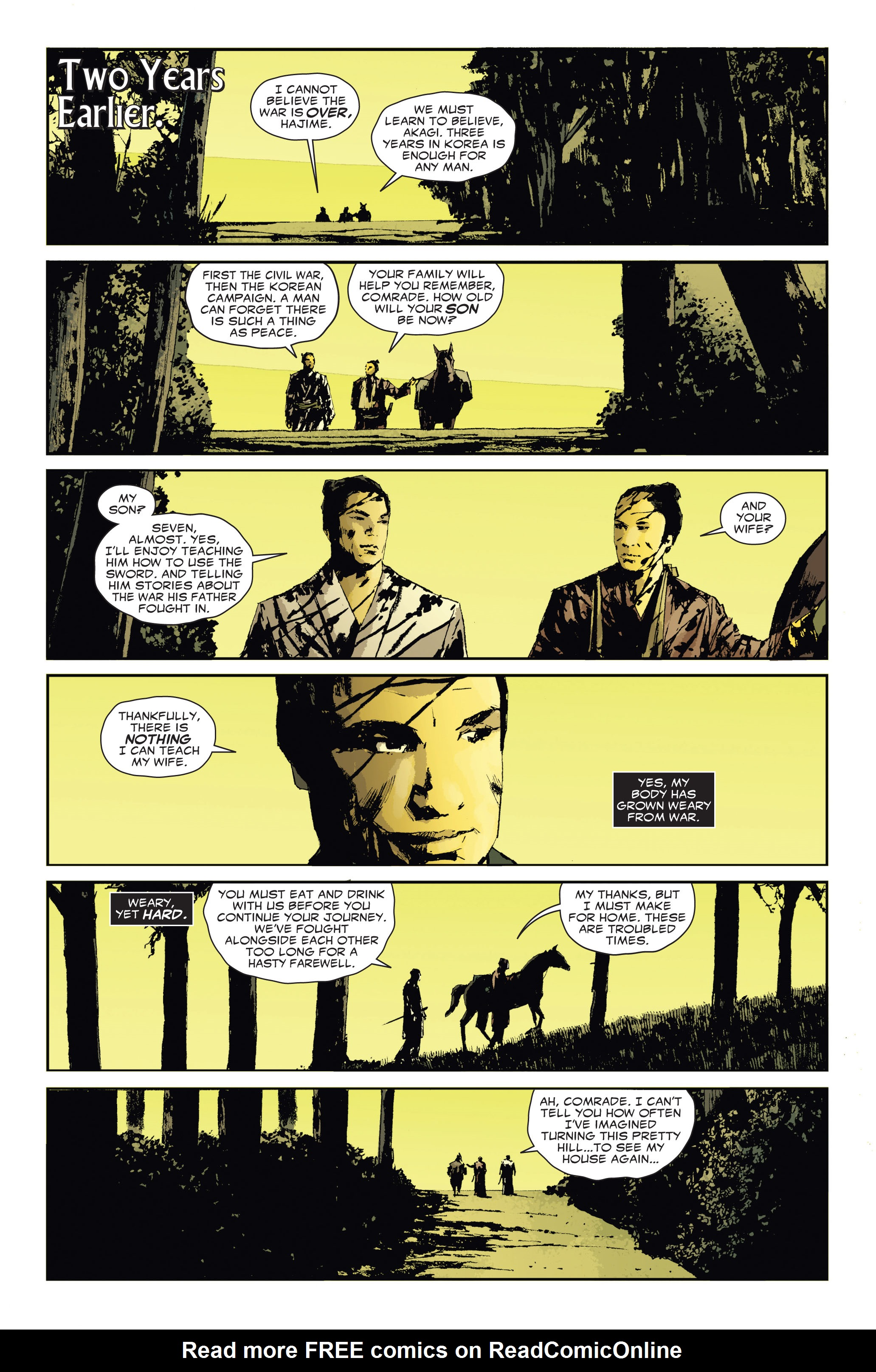 Read online 5 Ronin (2011) comic -  Issue #3 - 4
