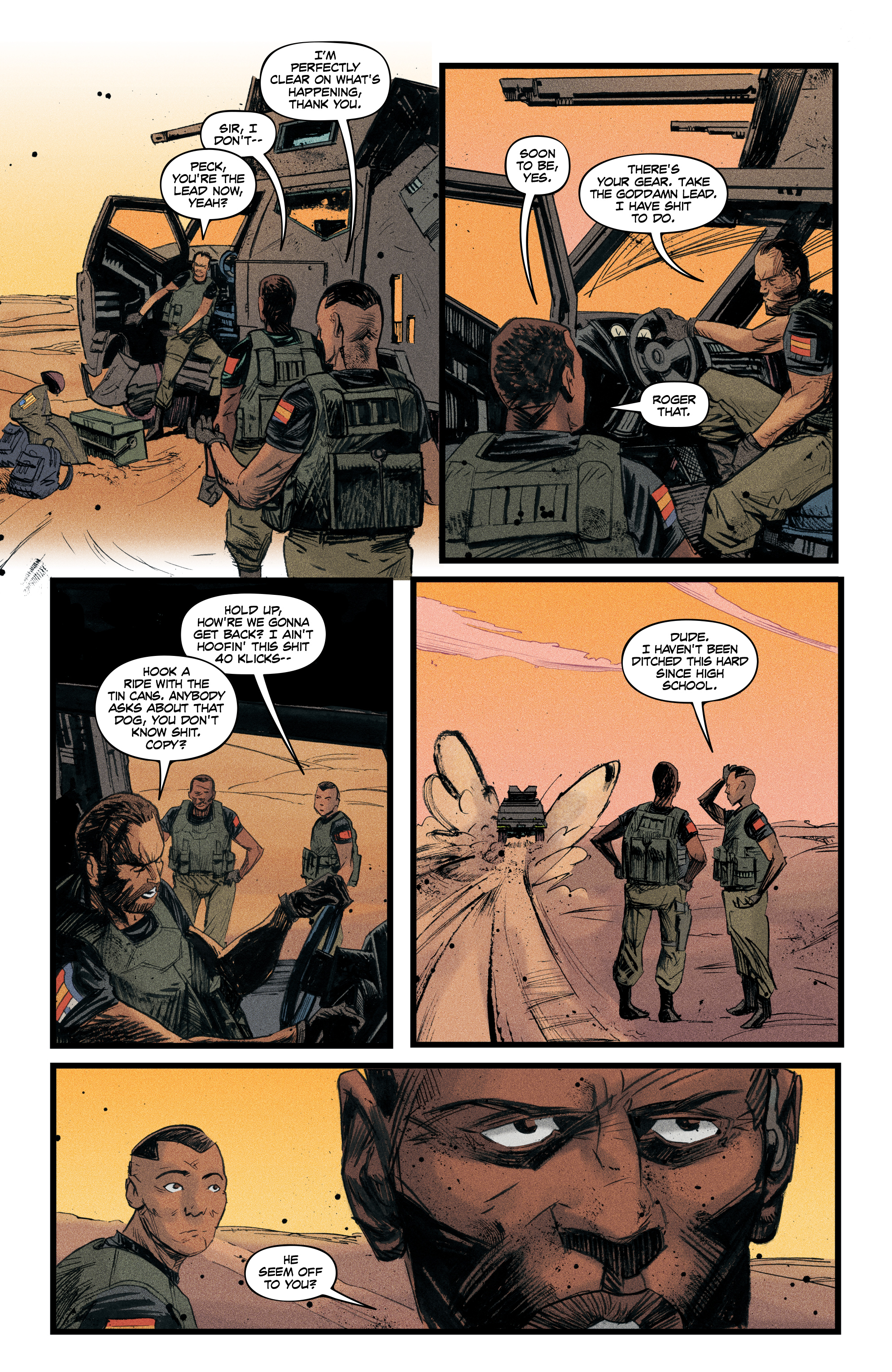 Read online Redline comic -  Issue #4 - 10