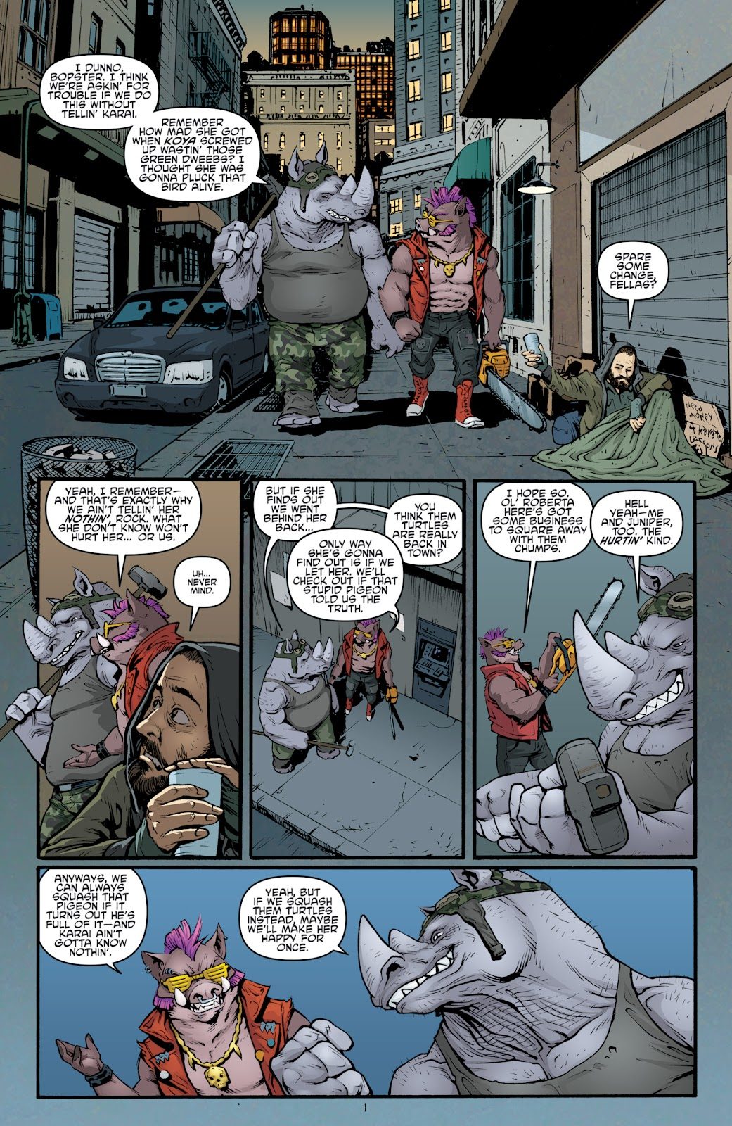Read online Teenage Mutant Ninja Turtles: The IDW Collection comic -  Issue # TPB 5 (Part 2) - 26