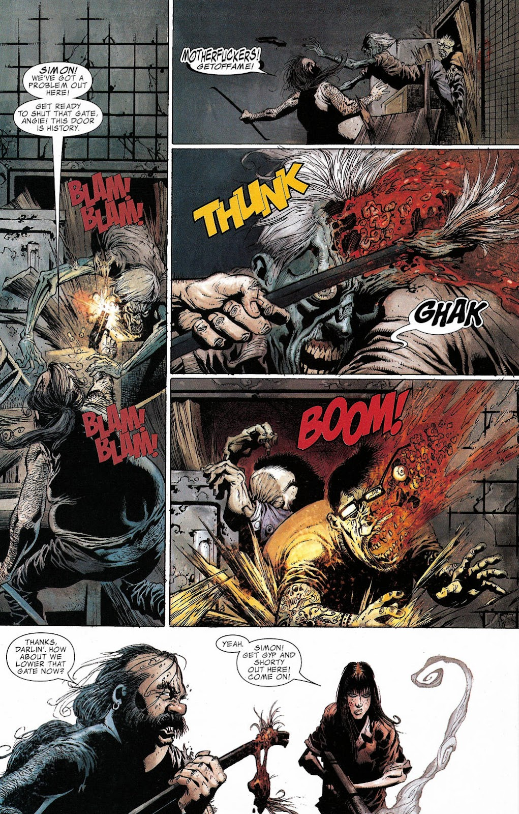 Read online Zombie (2006) comic -  Issue #2 - 18