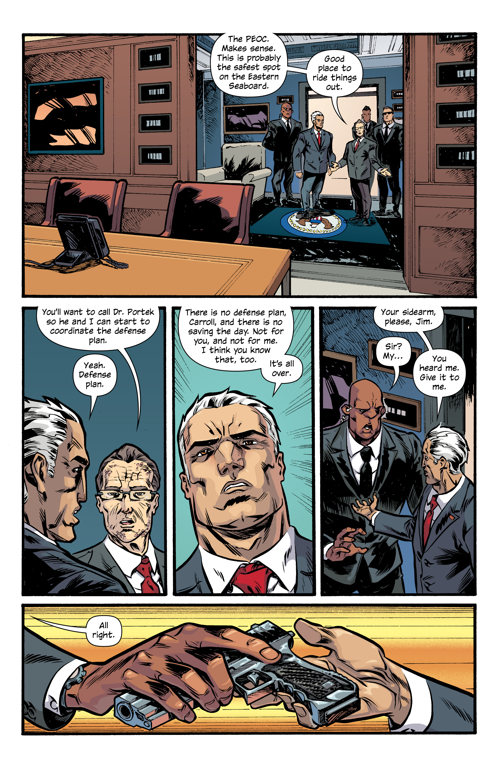 Read online Letter 44 comic -  Issue #33 - 5