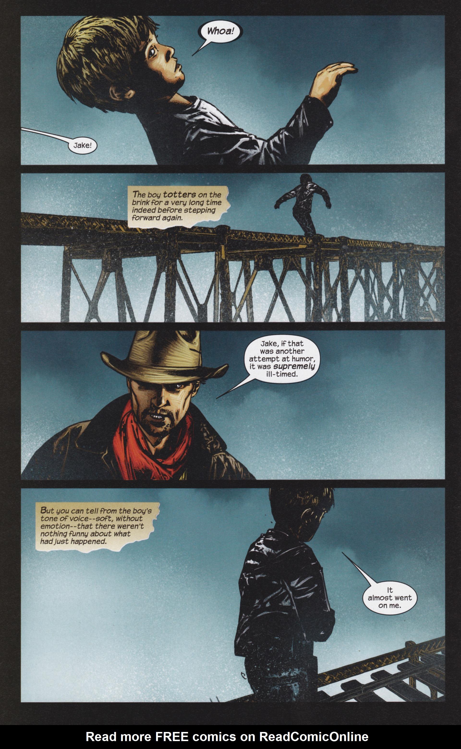 Read online Dark Tower: The Gunslinger - The Man in Black comic -  Issue #4 - 13
