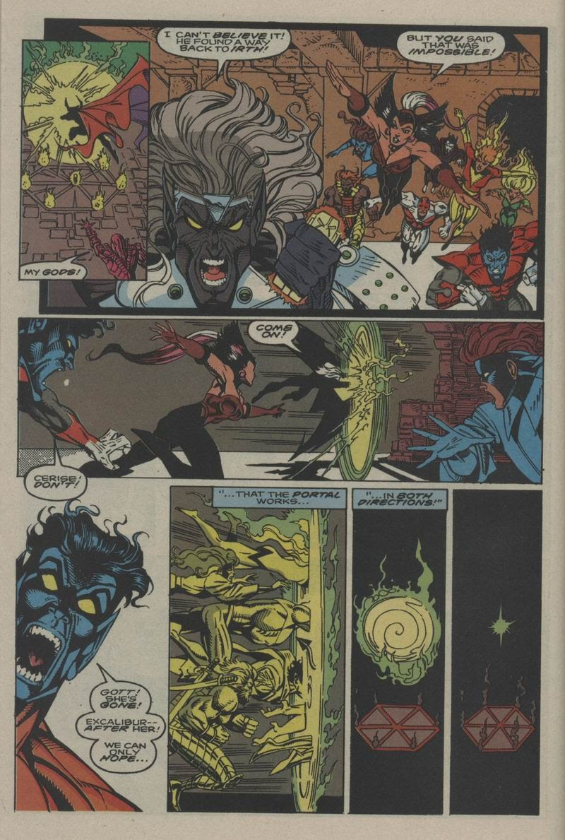 Excalibur (1988) issue Annual 1 - Page 34