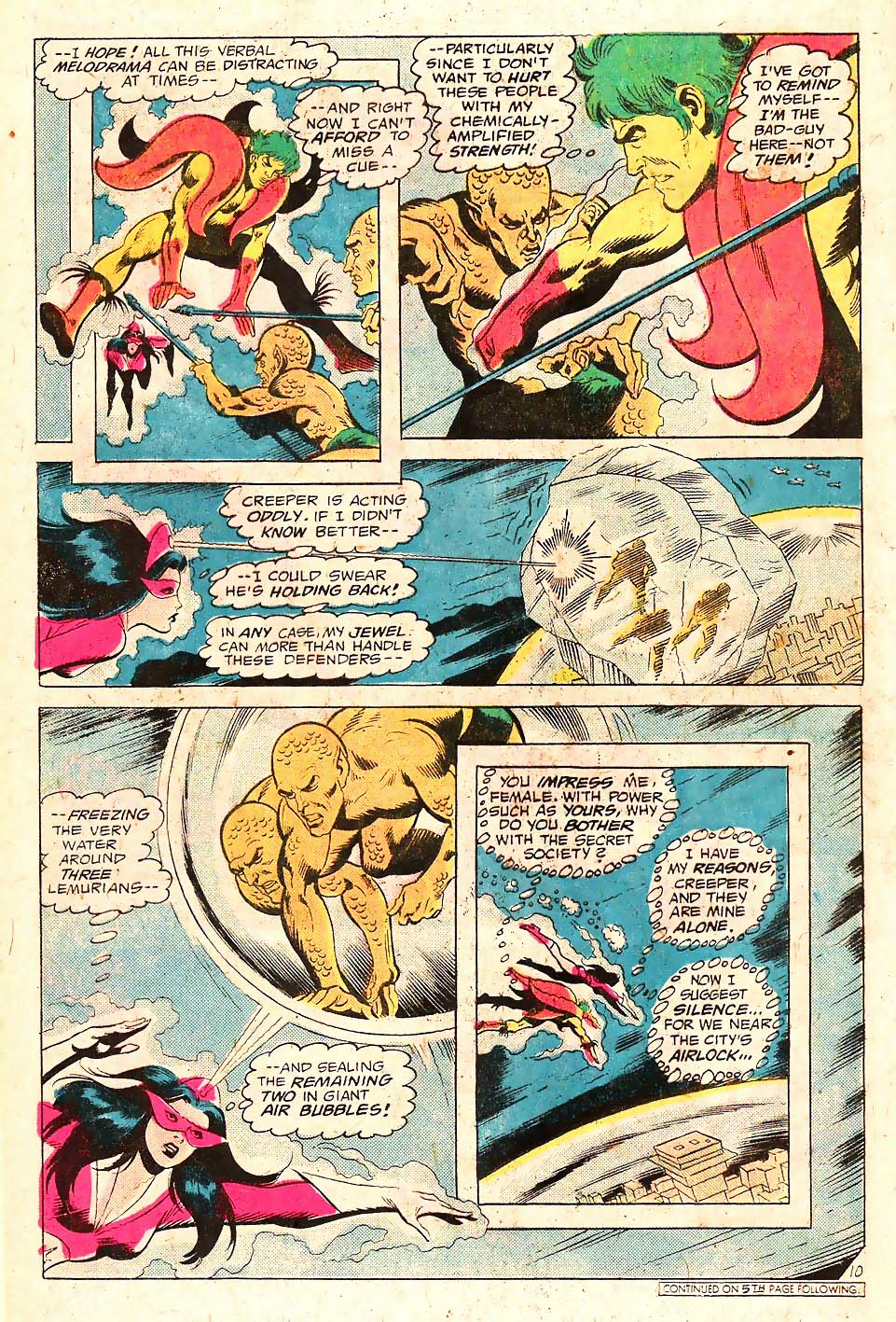 Read online Secret Society of Super-Villains comic -  Issue #10 - 11