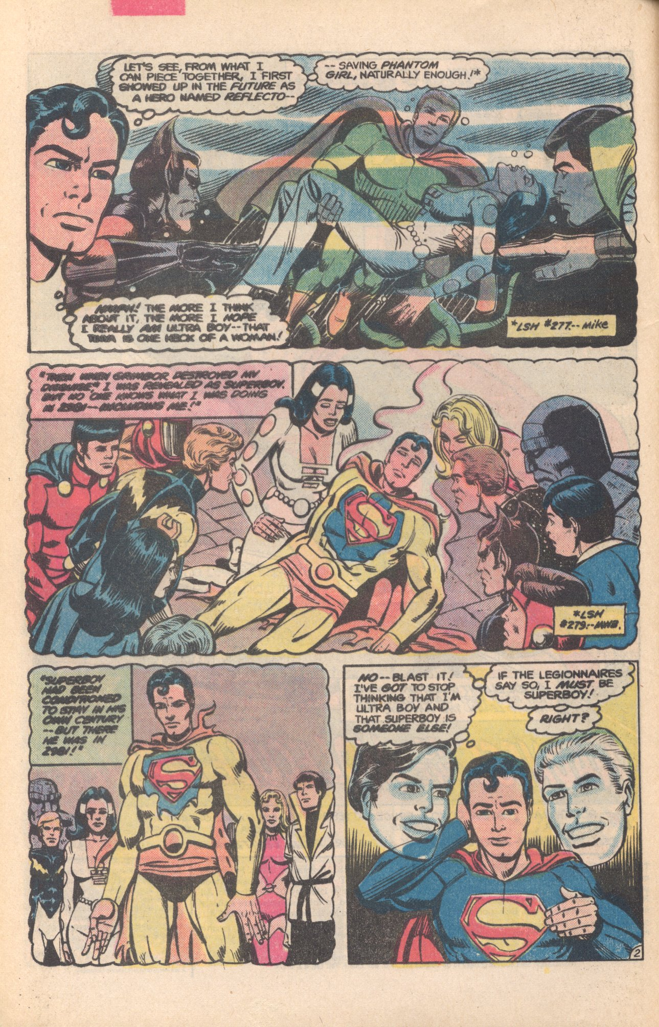 Legion of Super-Heroes (1980) 281 Page 2