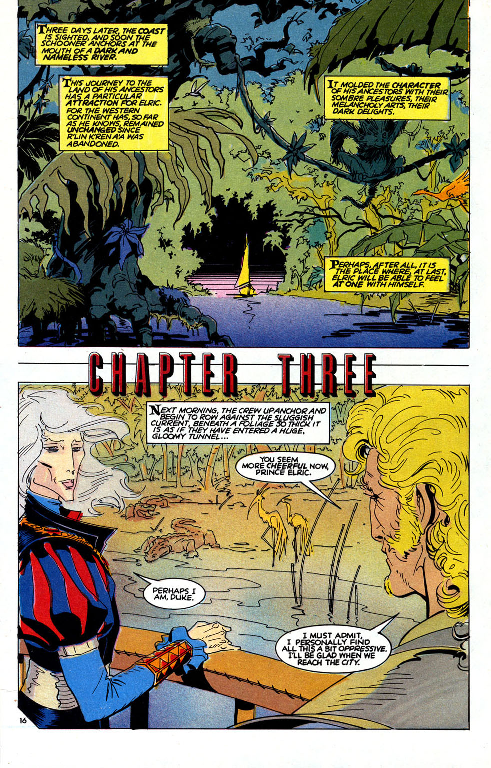 Read online Elric: Sailor on the Seas of Fate comic -  Issue #6 - 19