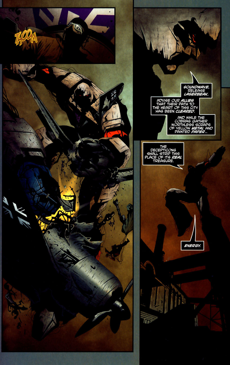 Read online Transformers/G.I. Joe comic -  Issue #1 - 17