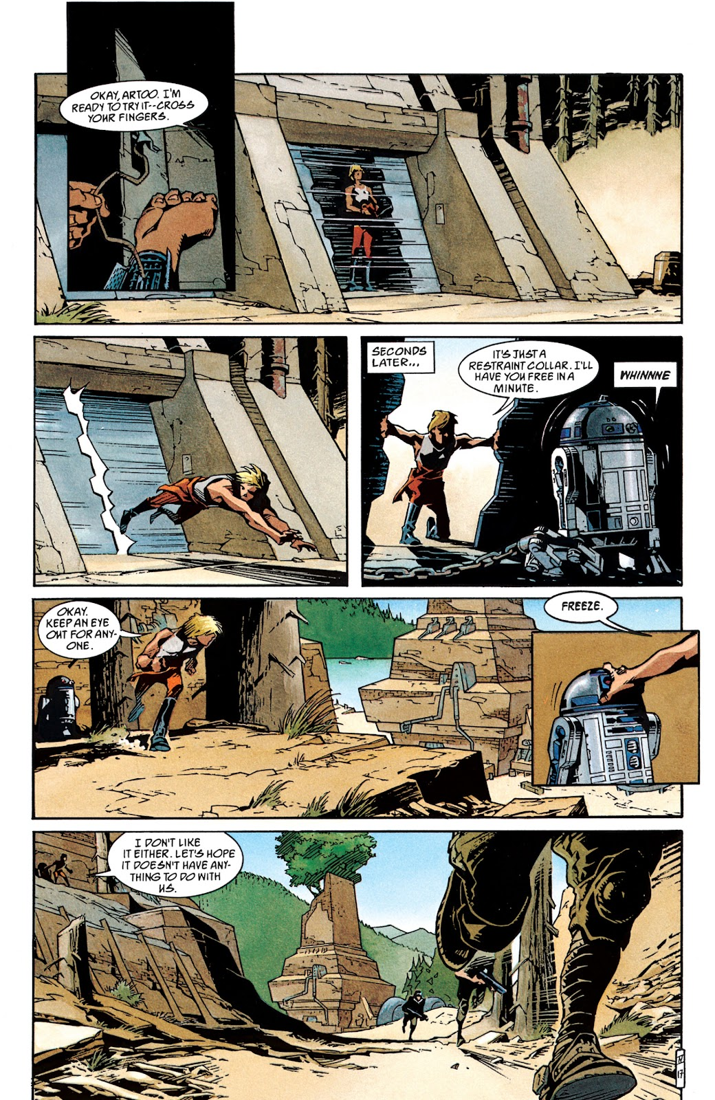 Read online Star Wars Legends: The New Republic - Epic Collection comic -  Issue # TPB 4 (Part 1) - 95