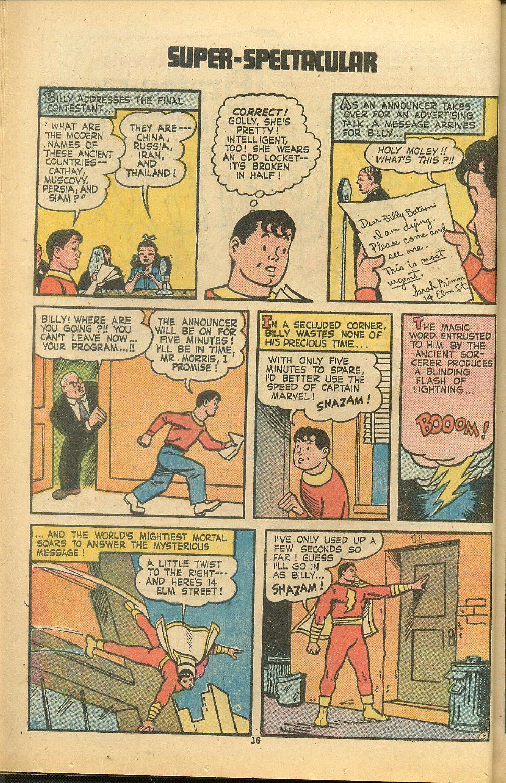 Read online Shazam! (1973) comic -  Issue #8 - 16