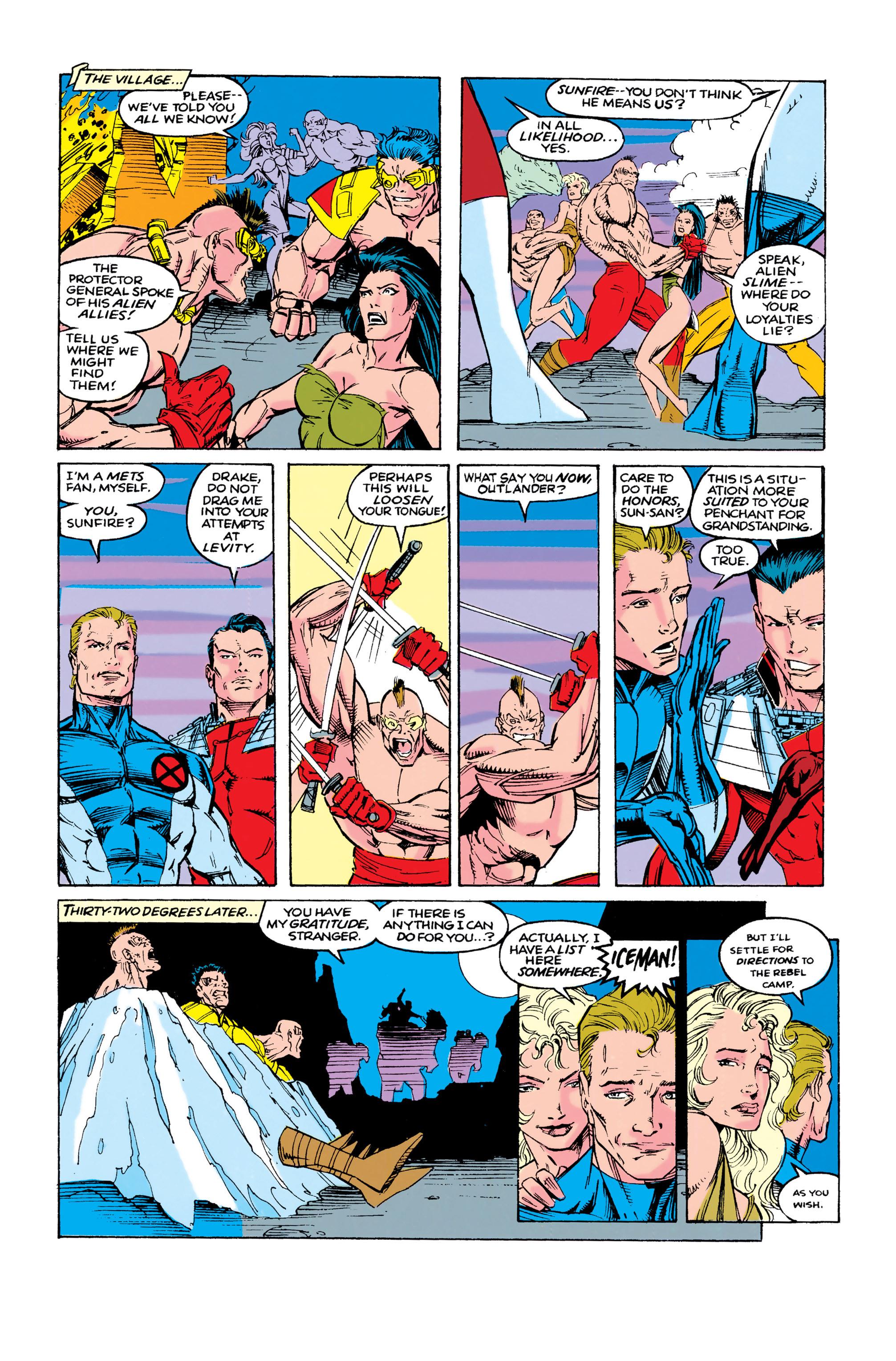 Read online Uncanny X-Men (1963) comic -  Issue #286 - 7