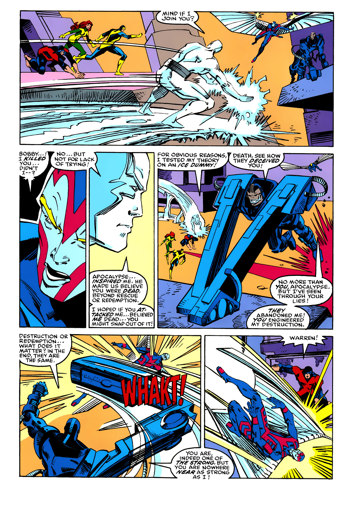 Read online X-Factor (1986) comic -  Issue #25 - 33