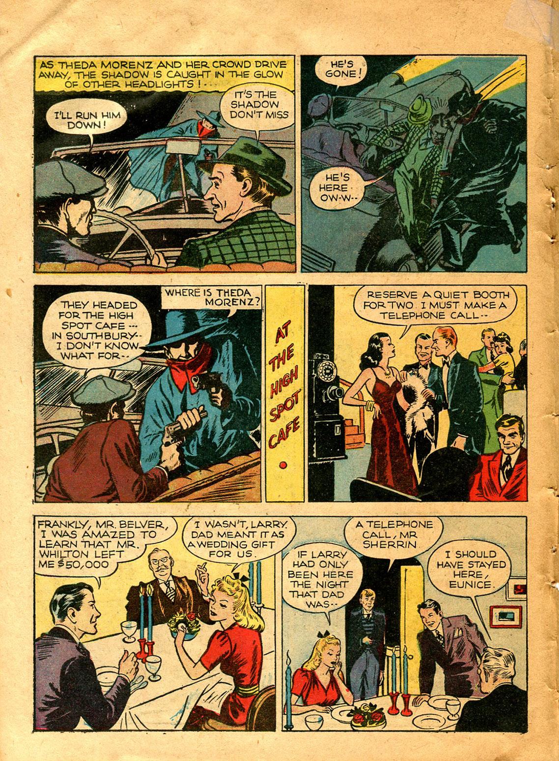Read online Shadow Comics comic -  Issue #9 - 18