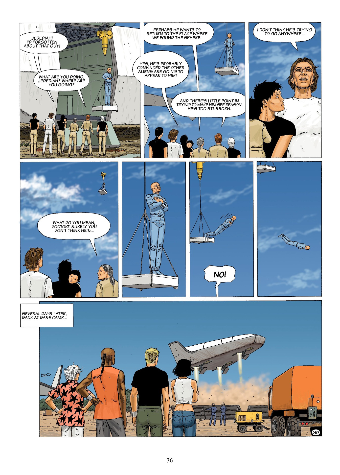 Read online Antares comic -  Issue #6 - 38