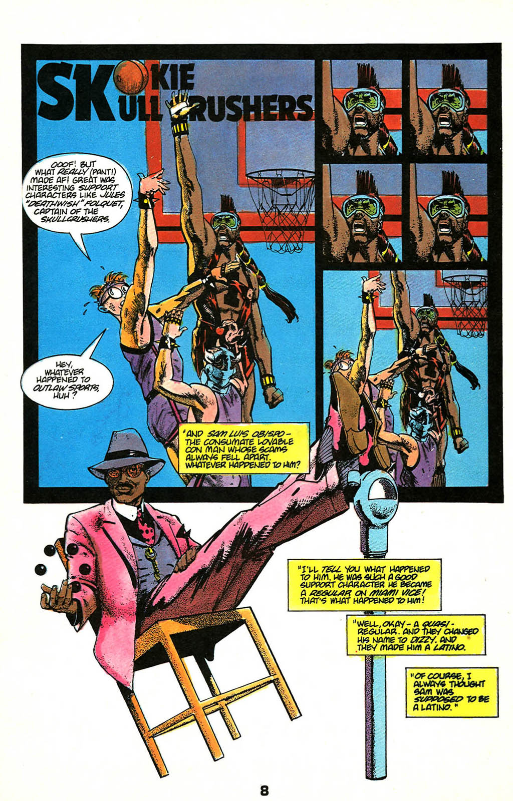 Read online American Flagg! comic -  Issue #46 - 10