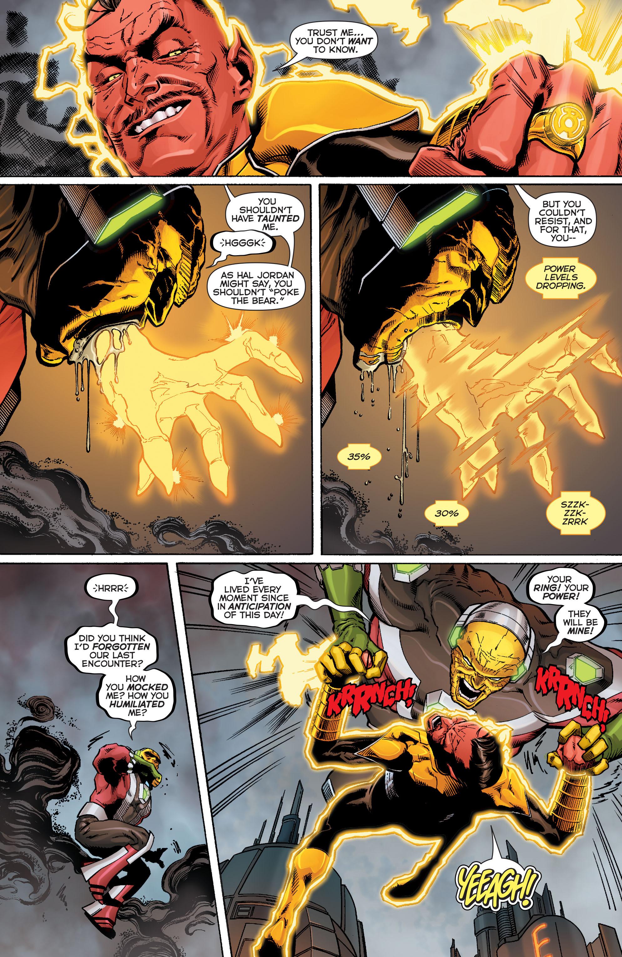 Read online Sinestro comic -  Issue #9 - 18