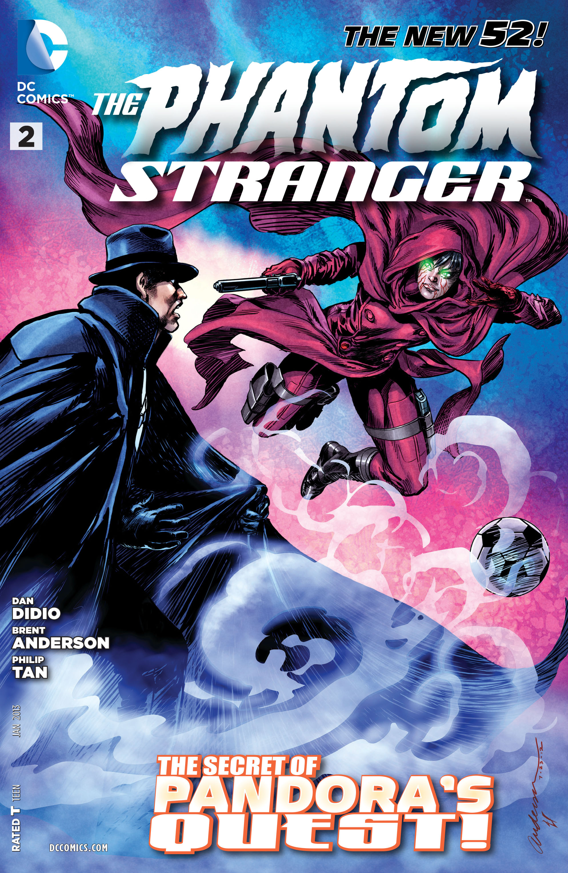 Read online Trinity of Sin: The Phantom Stranger comic -  Issue #2 - 1