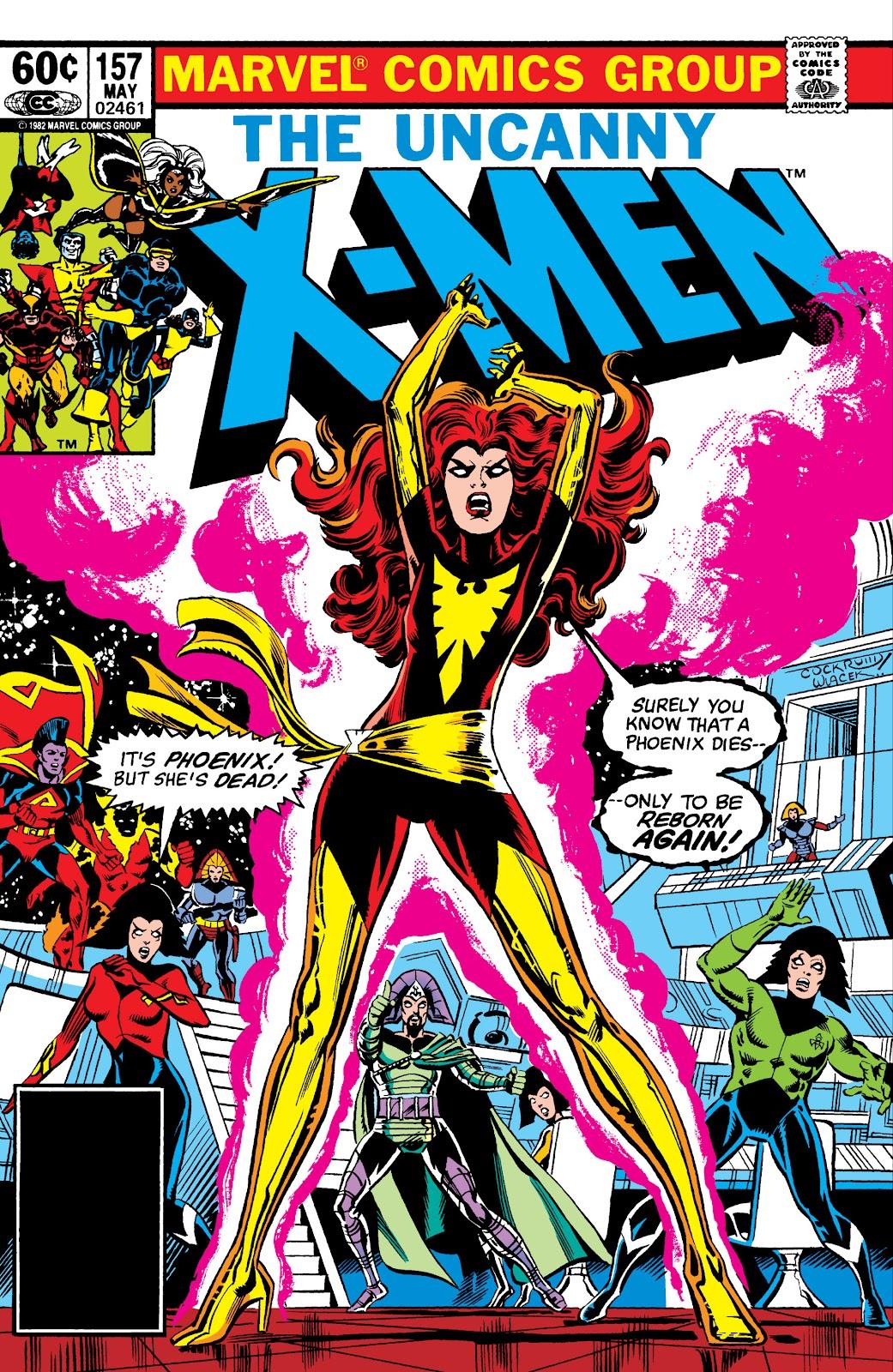 Uncanny X-Men (1963) issue 157 - Page 1