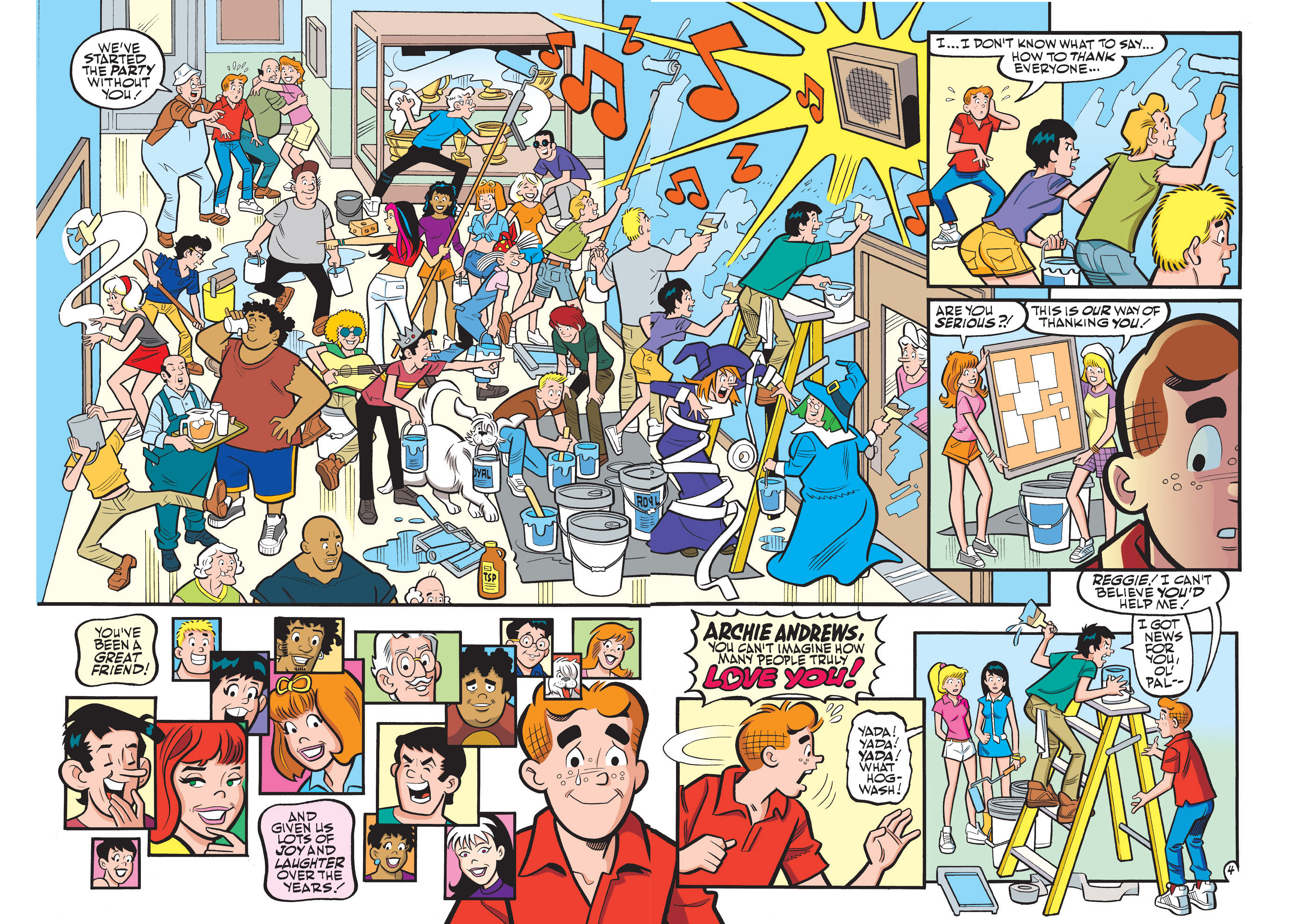 Read online Archie 75th Anniversary Digest comic -  Issue #1 - 206