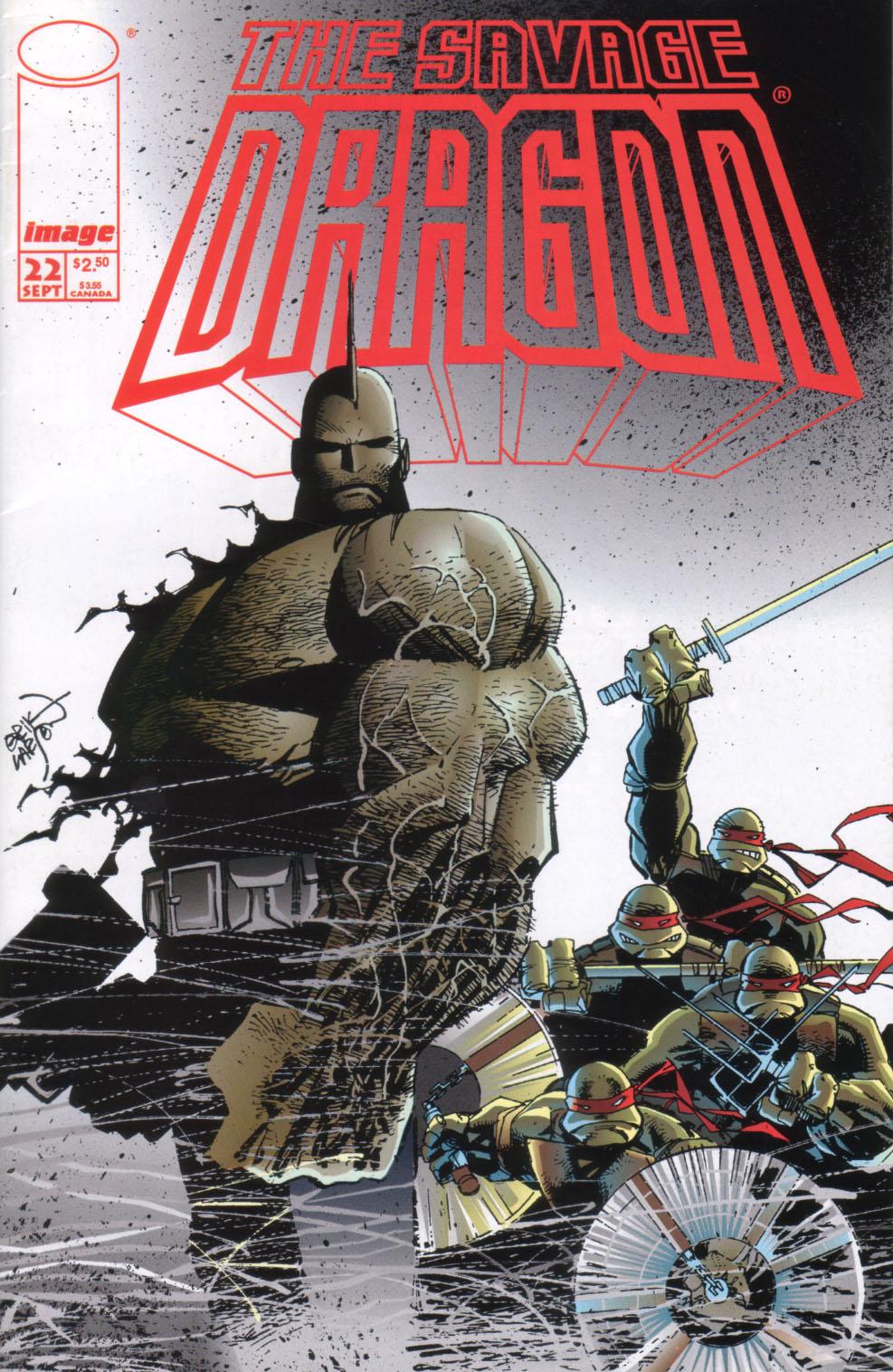 The Savage Dragon (1993) Issue #22 #25 - English 2