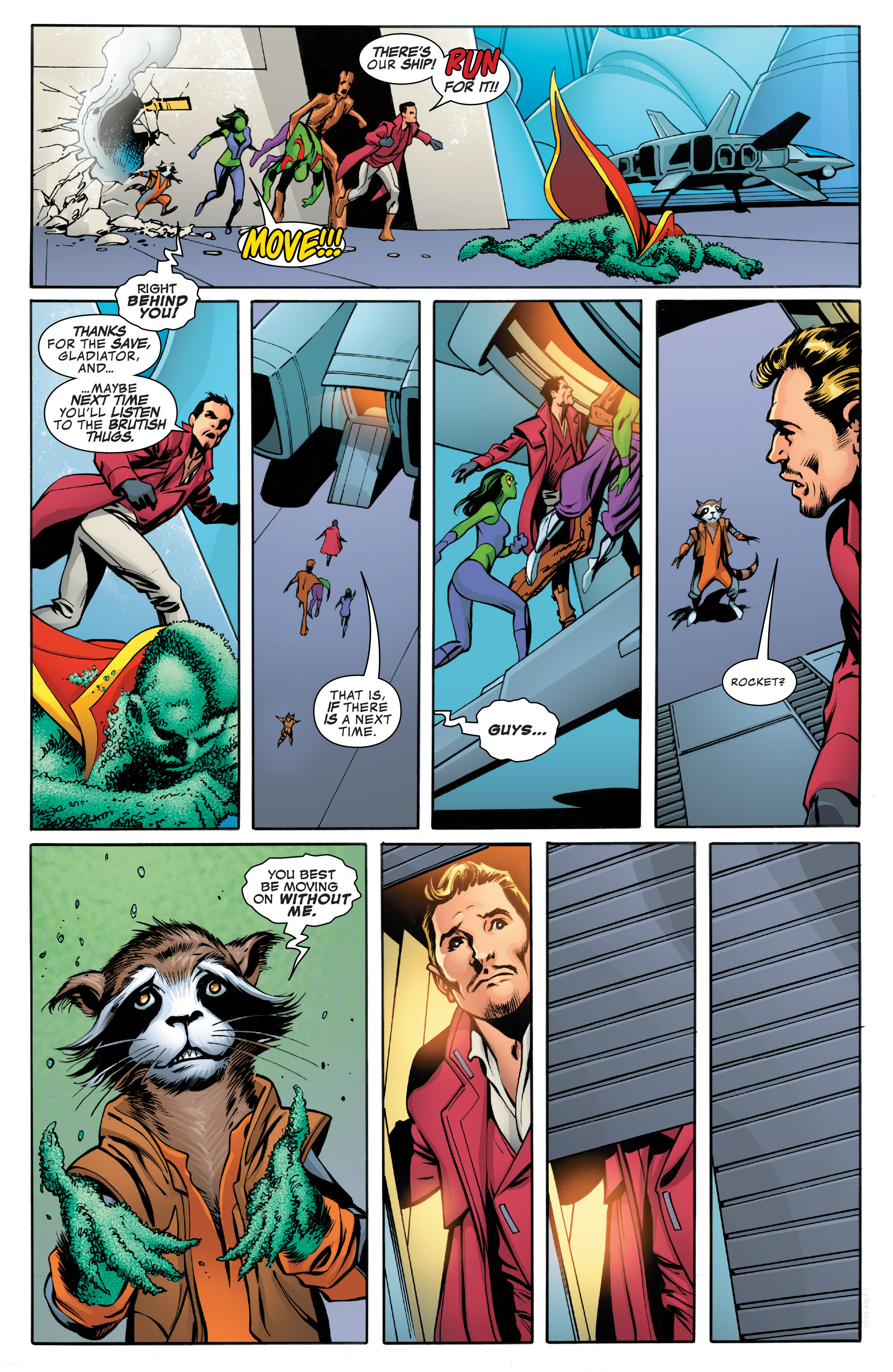Read online Guardians of the Galaxy: Mother Entropy comic -  Issue #4 - 10