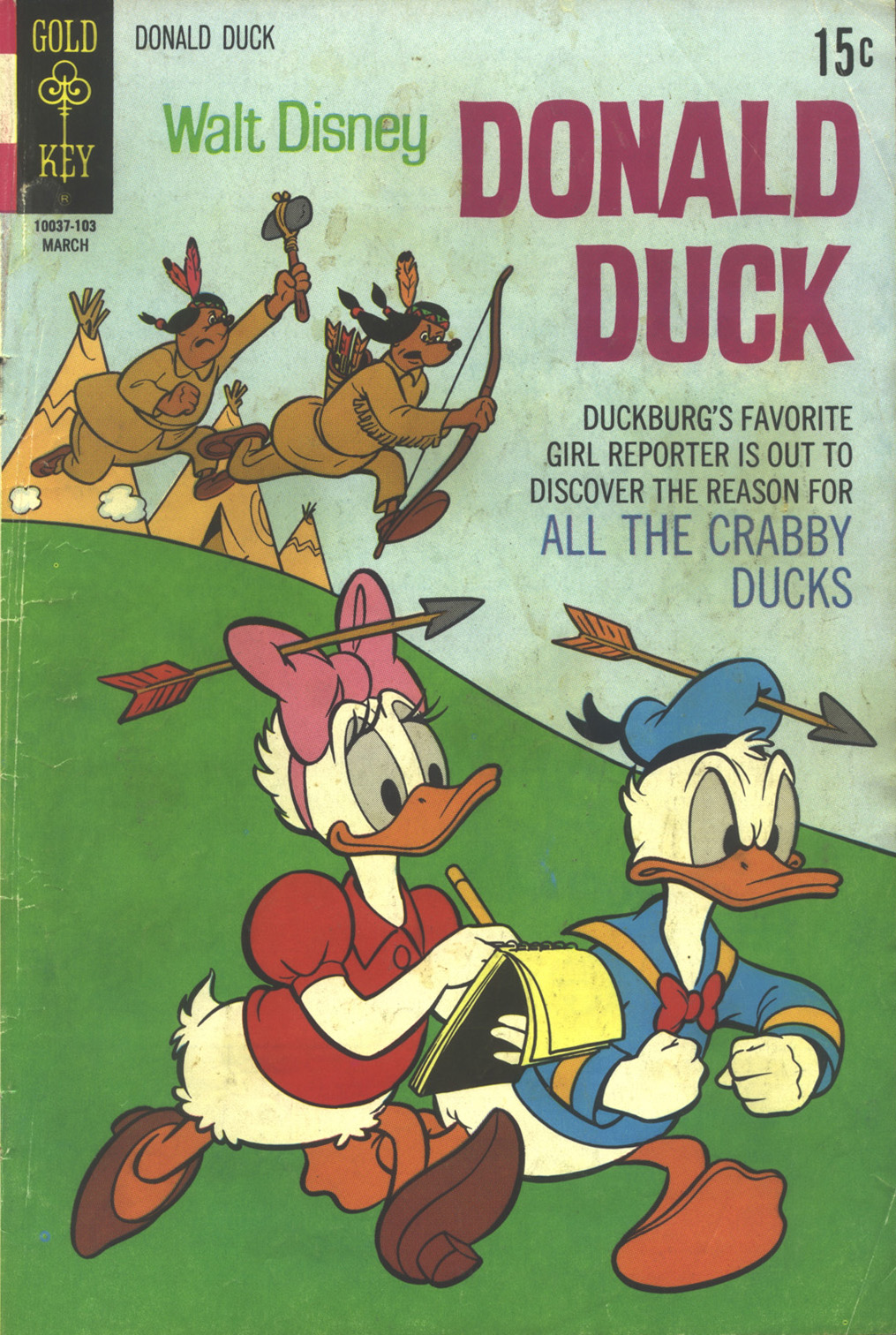 Walt Disney's Donald Duck (1952) issue 136 - Page 1