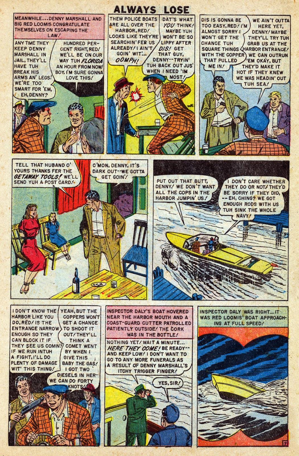 Lawbreakers Always Lose! issue 9 - Page 9