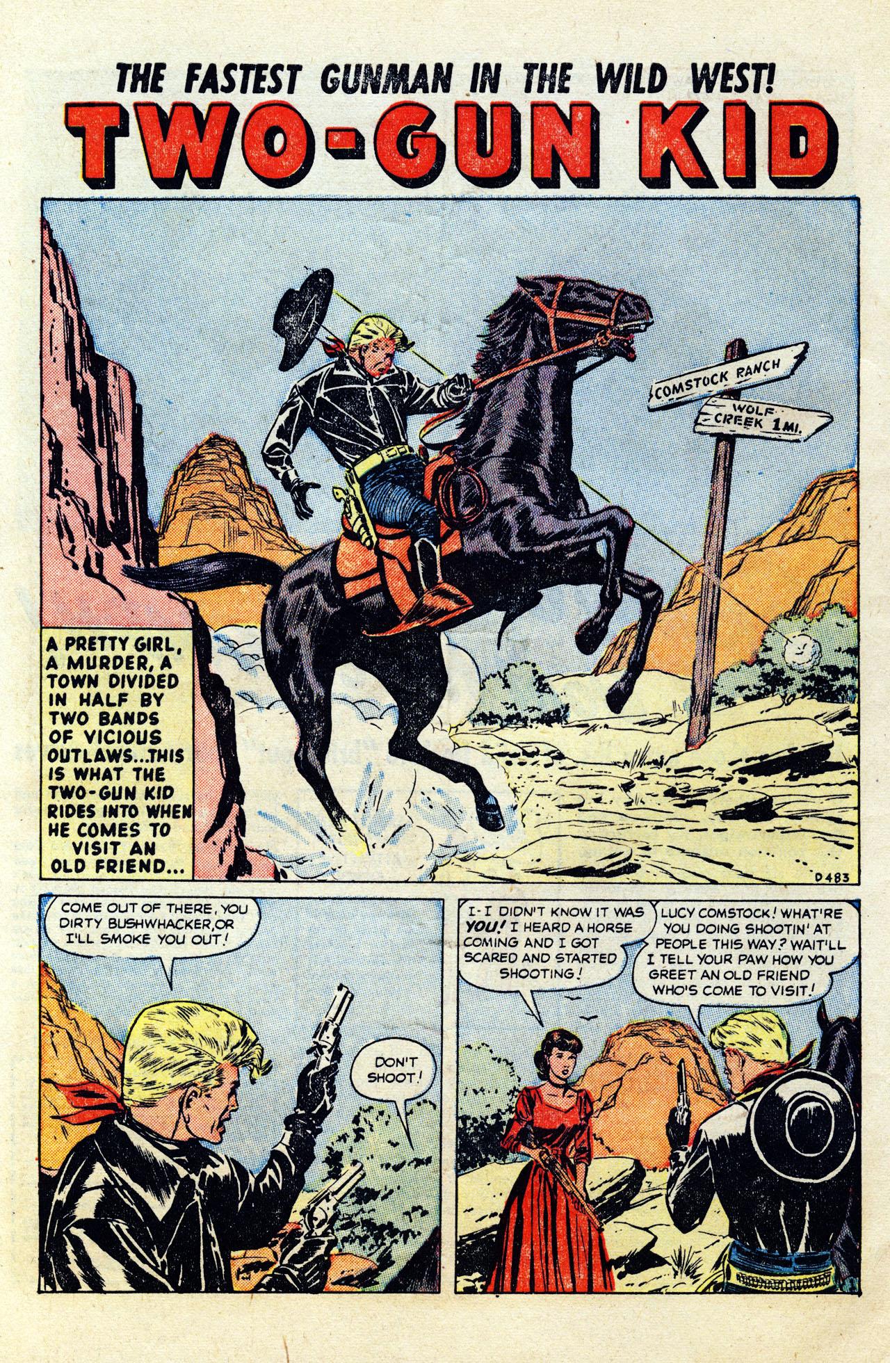 Read online Two-Gun Kid comic -  Issue #12 - 11