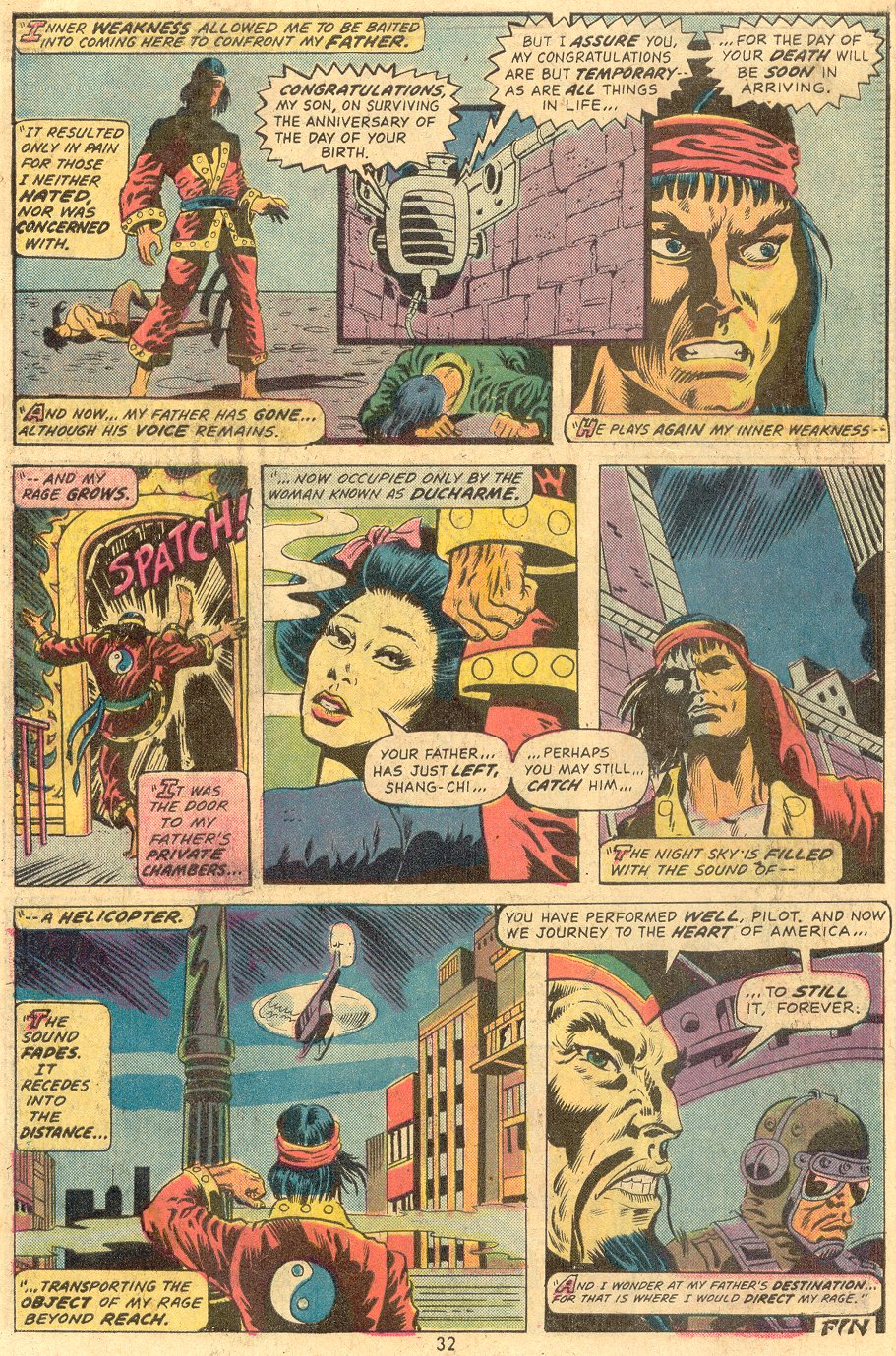 Read online Giant-Size Master of Kung Fu comic -  Issue #1 - 26